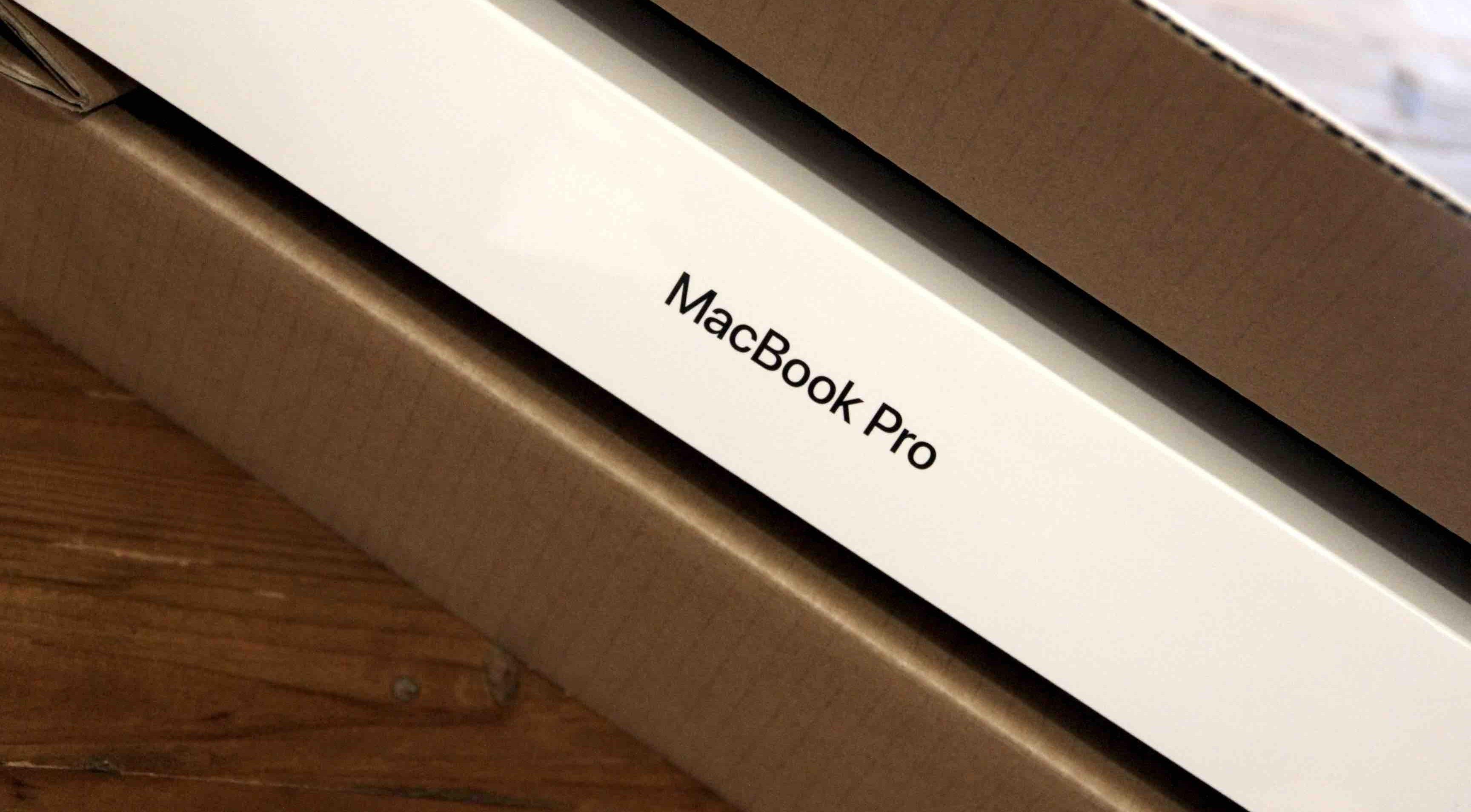MacBook Pro パッケージ画像