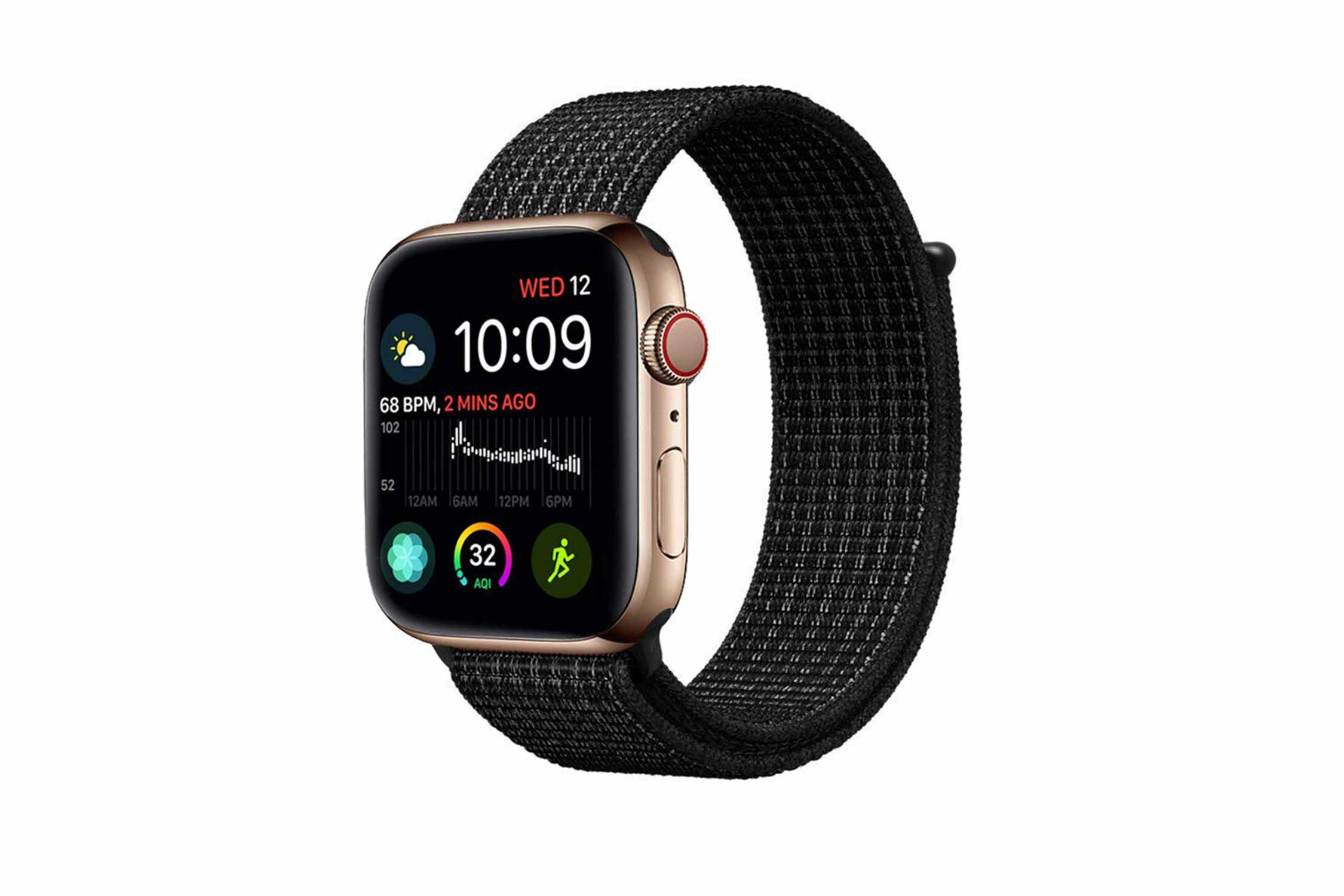 Haotop Compatible for Apple Watch ナイロン スポーツループバンド