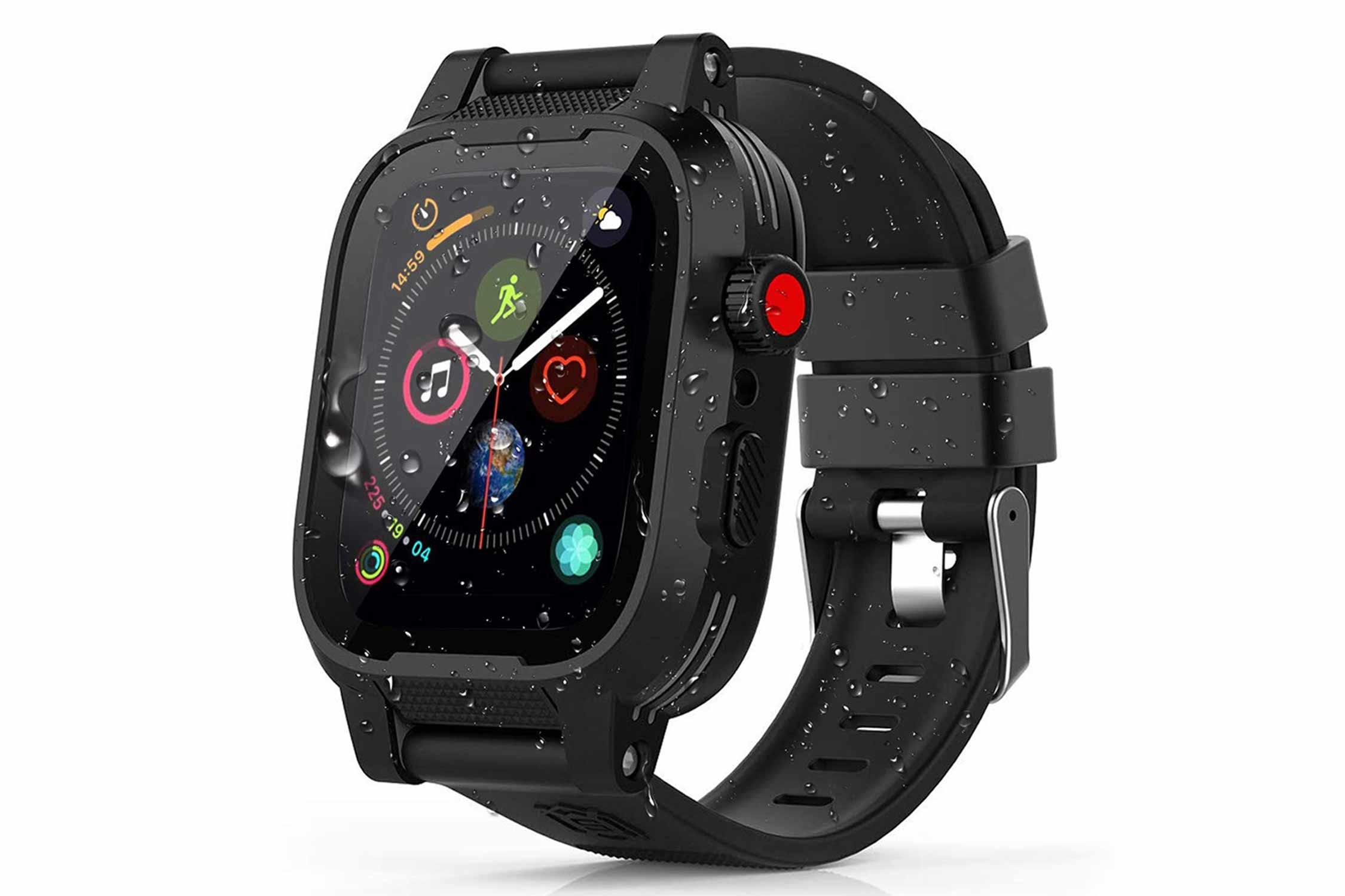 Apple Watch ケース シリコンバンド カバー