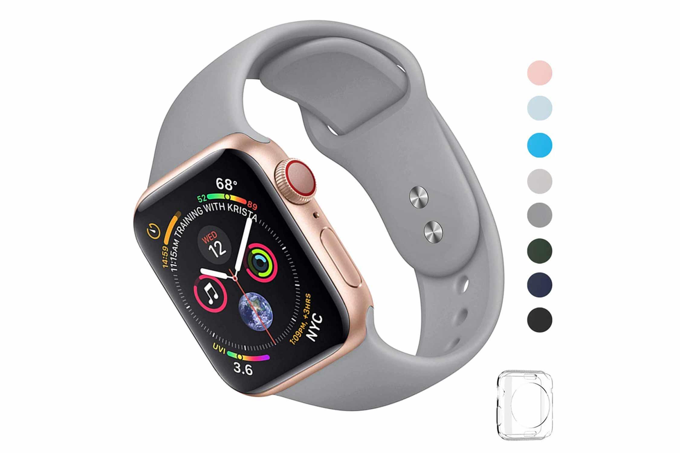 WFEAGL コンパチブル Apple Watch スポーツバンド