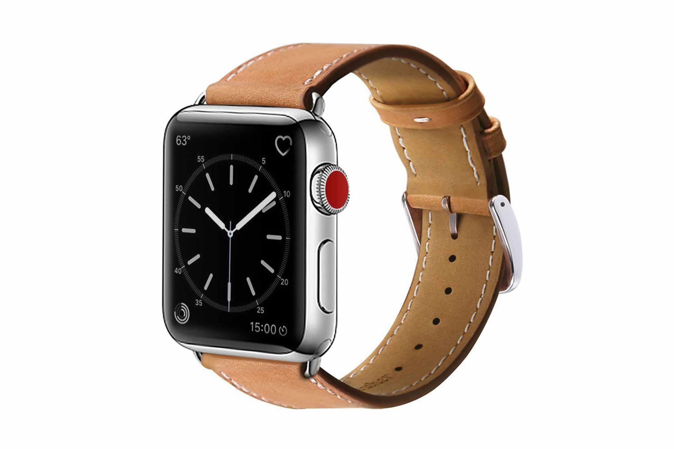 BRG コンパチブル apple watch バンド,本革 ビジネススタイル