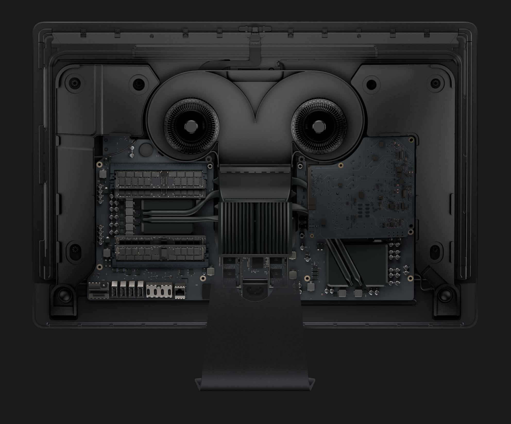 iMac Pro メモリの写真