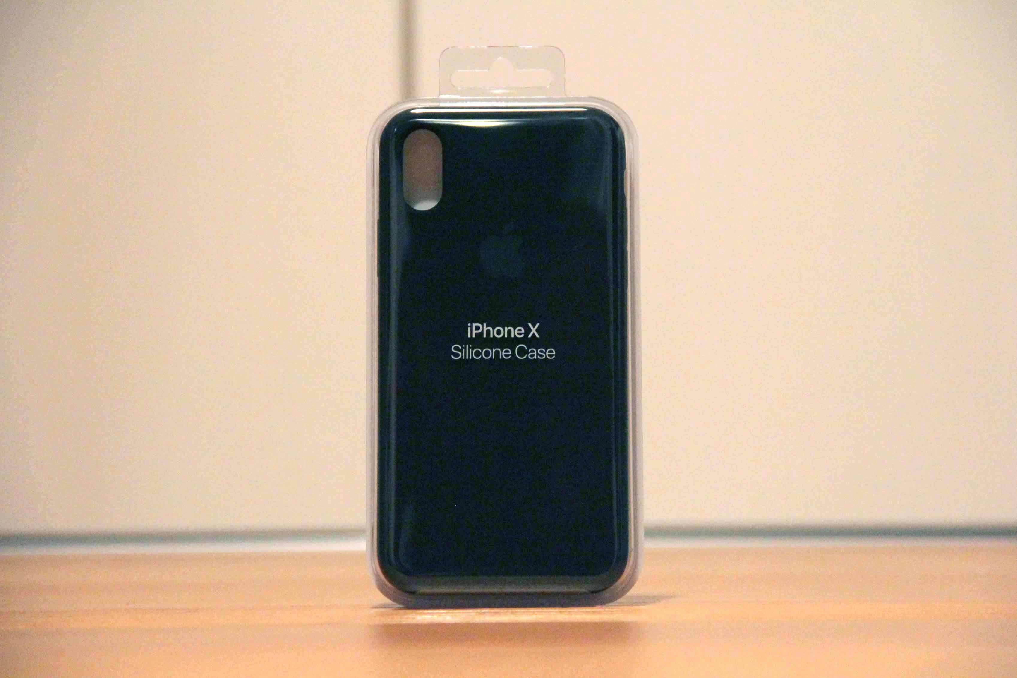 iPhoneXApple純正シリコンケース.①の写真