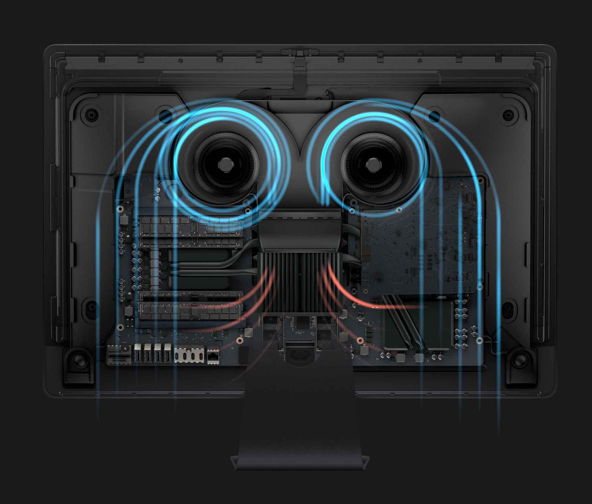 iMac Pro 温度管理の写真