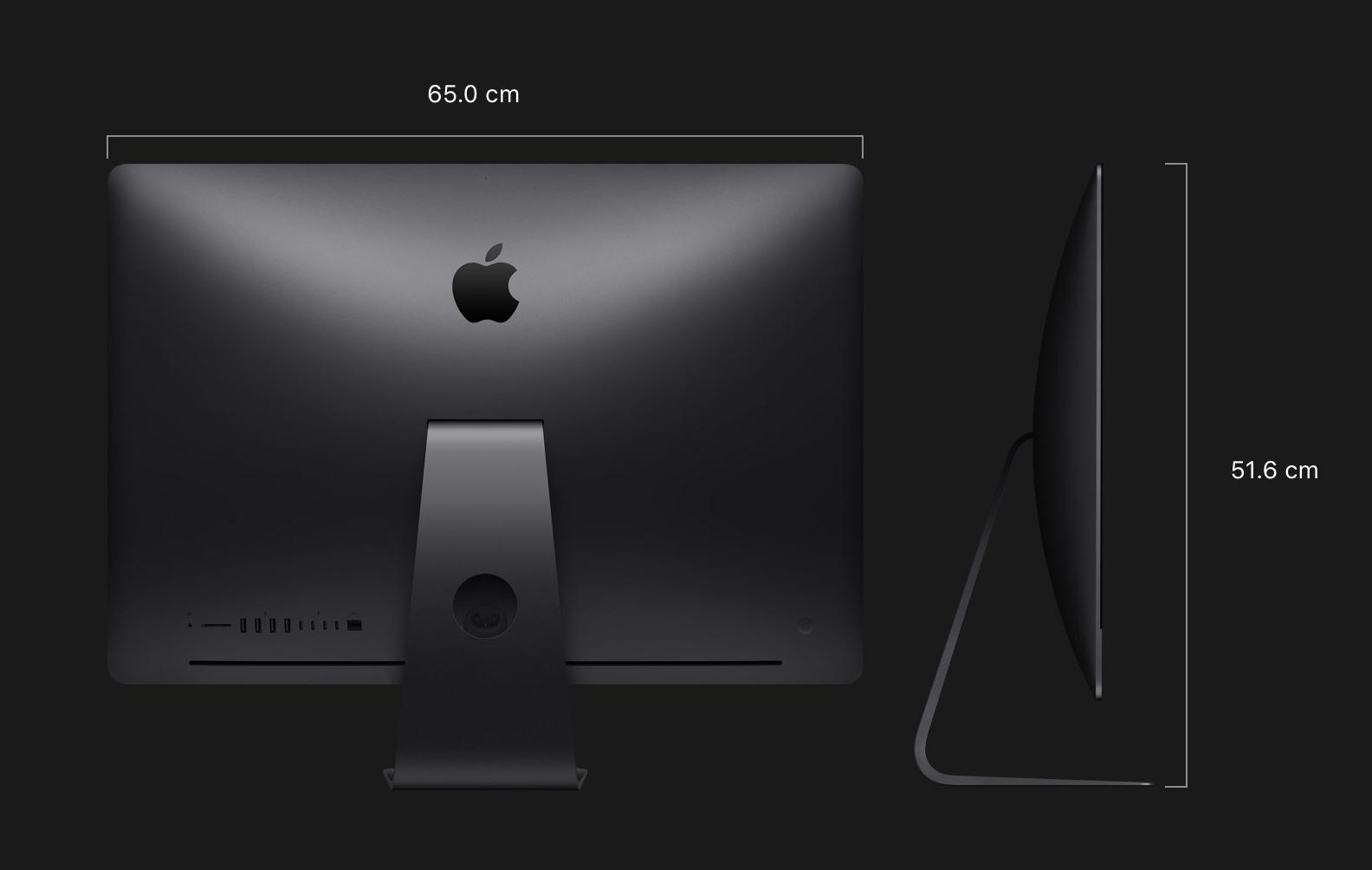 iMac Proサイズと重量の写真