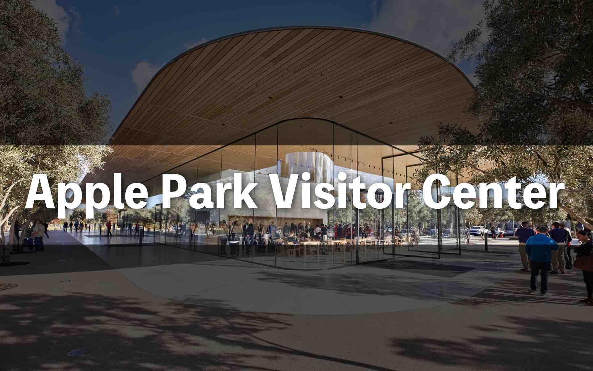 Apple Park Visitor centerのアイキャッチ