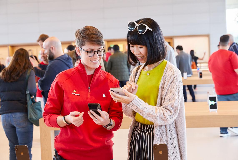 ApplePark_VisitorCenter製品販売の写真
