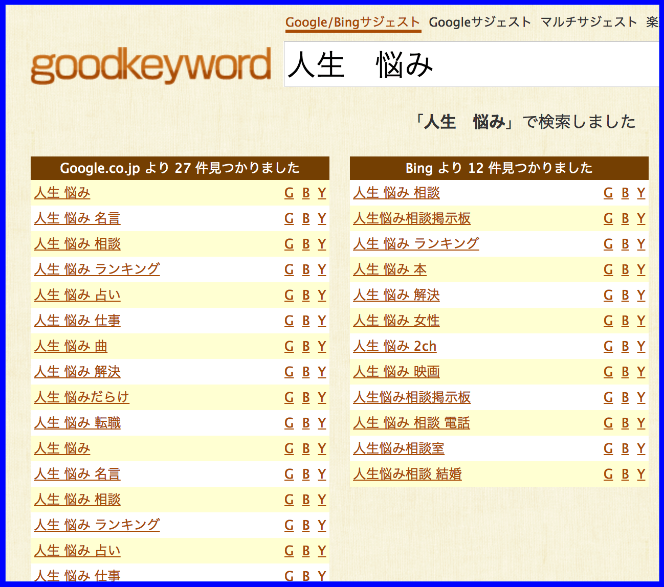 goodkeyword②の写真