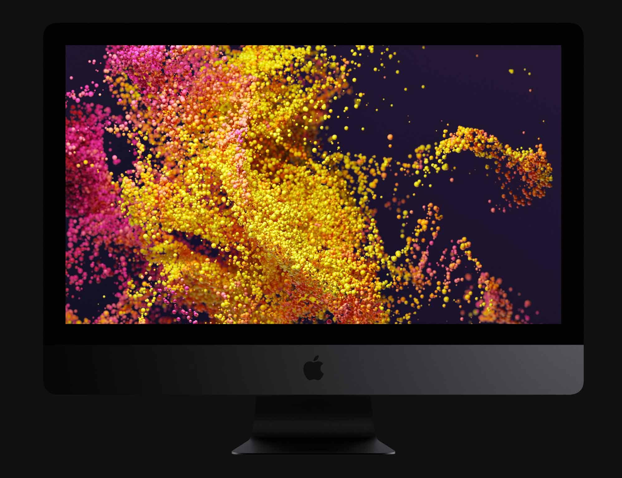 iMac Proレンダリングの写真