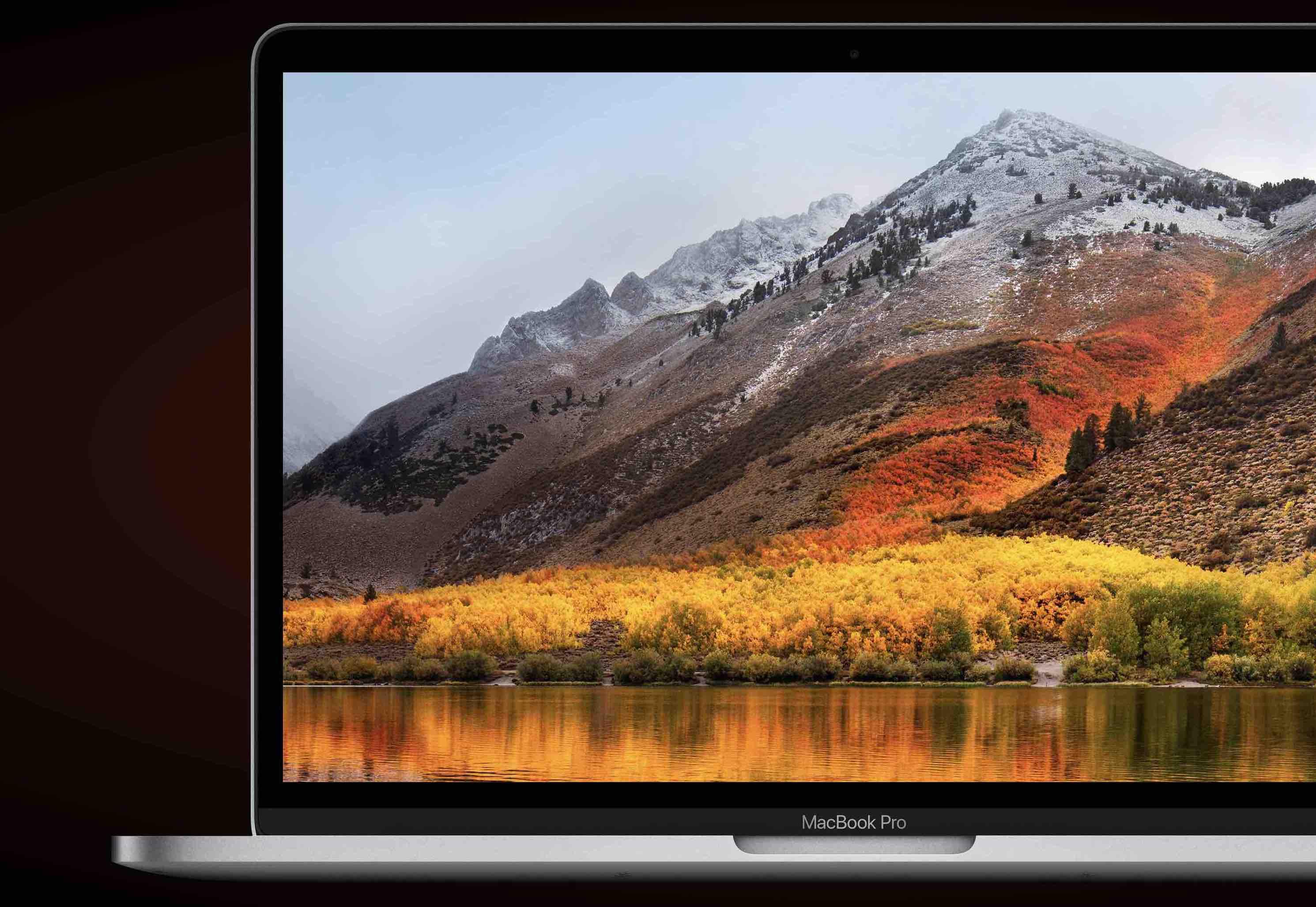 MacBookProディスプレイの写真