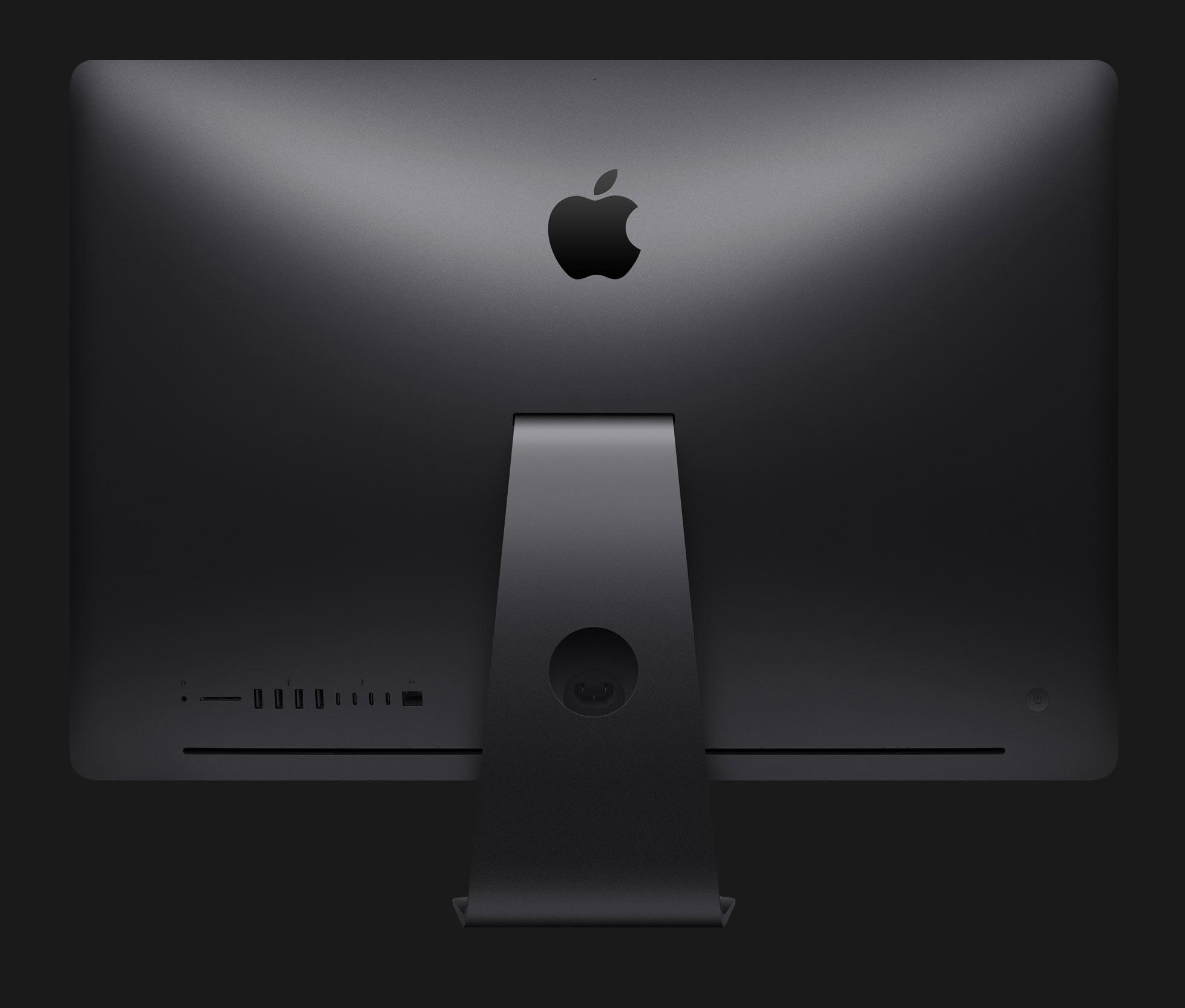 iMac Pro I/O ポートの写真