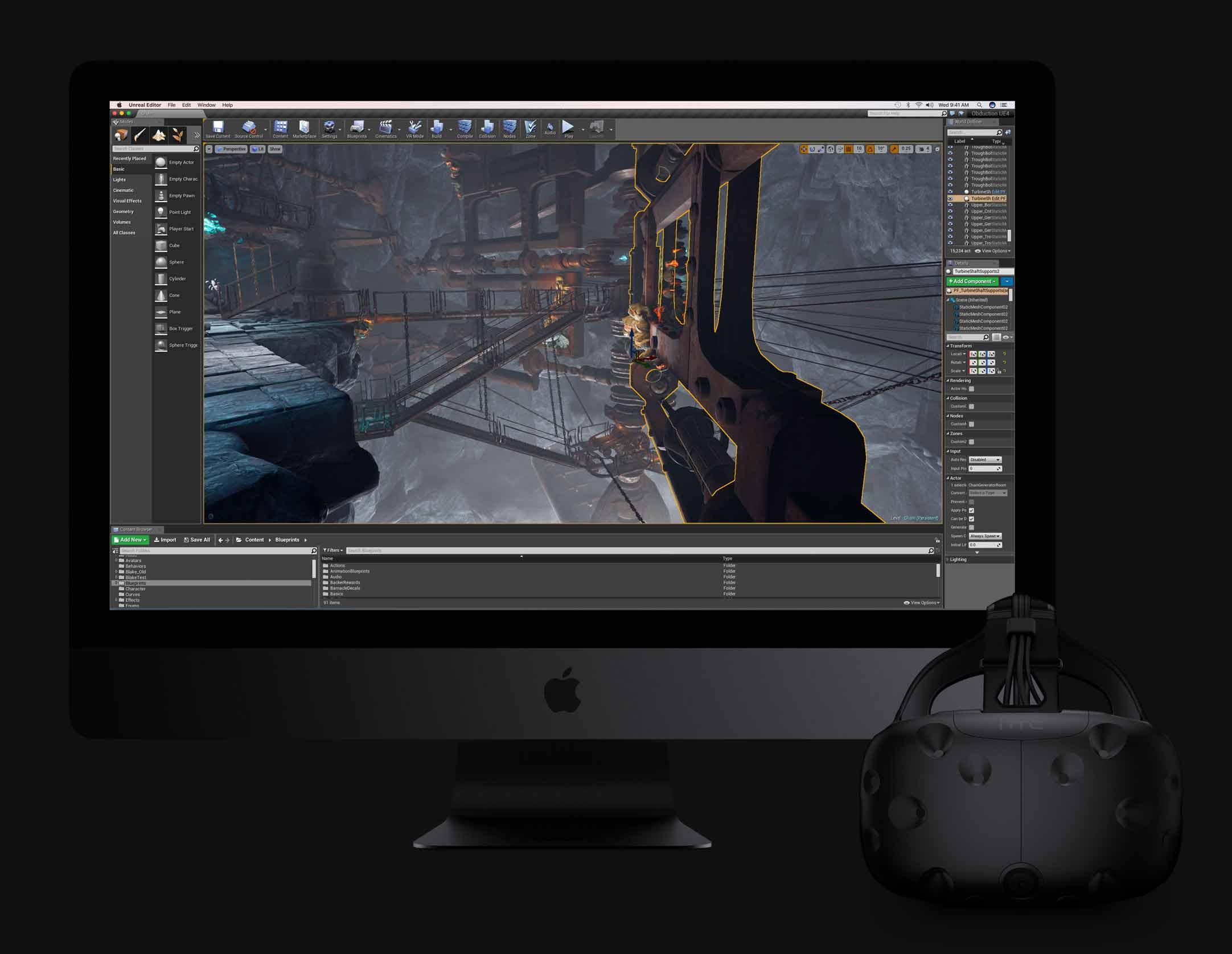 iMac Pro VRの写真