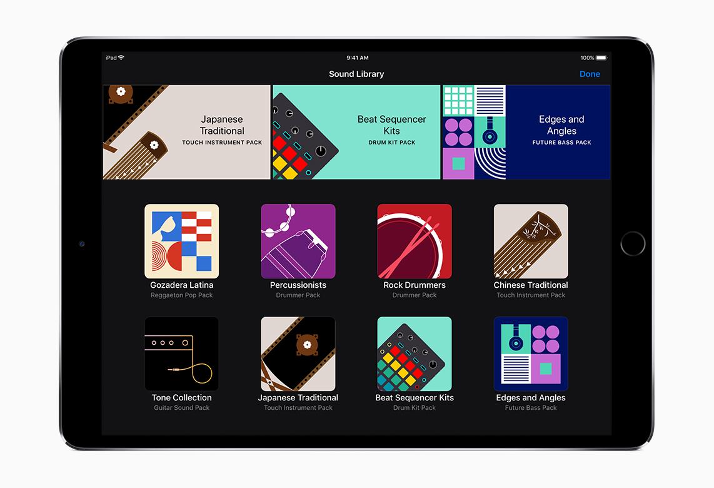 iPad-SoundLibraryの写真