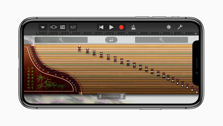iPhoneX-Guzhengの写真