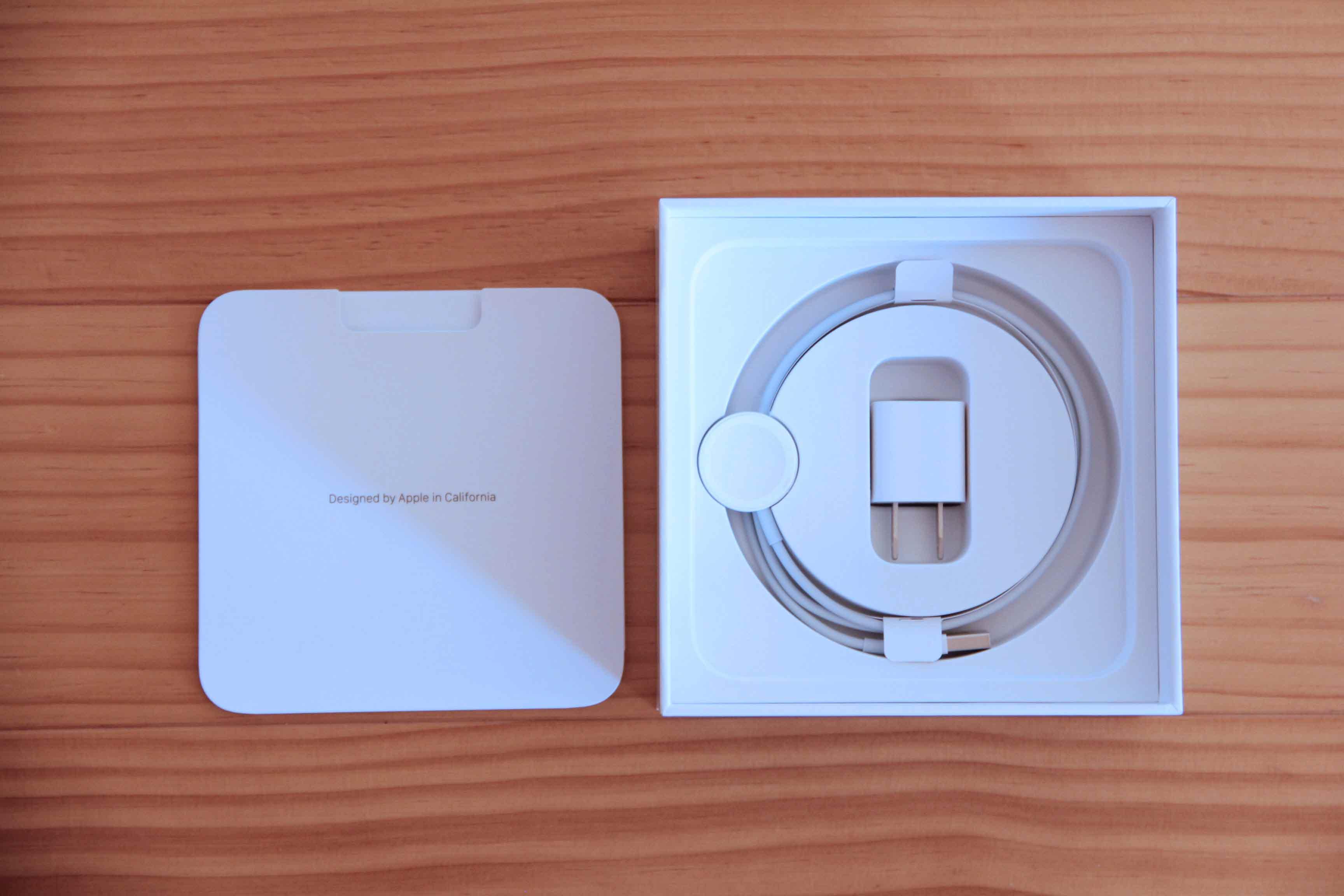 AppleWatch同梱品の写真