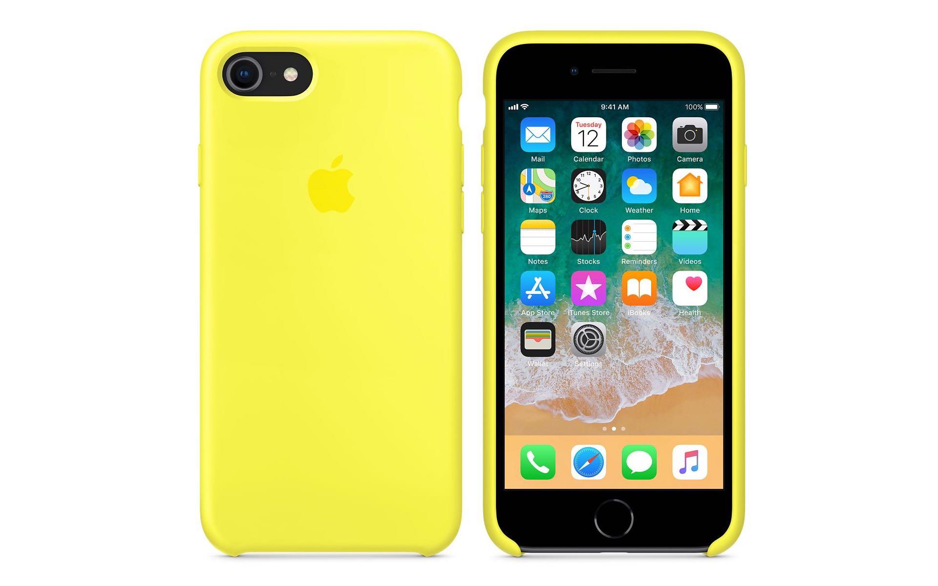 iPhone8 8PlusApple純正シリコーンケースの写真
