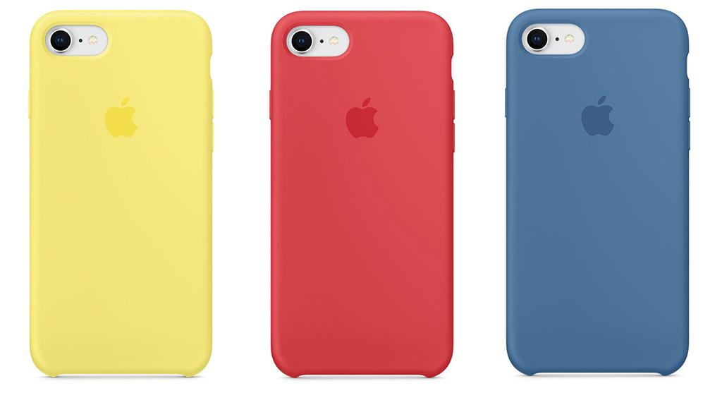 iPhone 8 8PlusのApple純正シリコンケースの新色3種類追加の写真