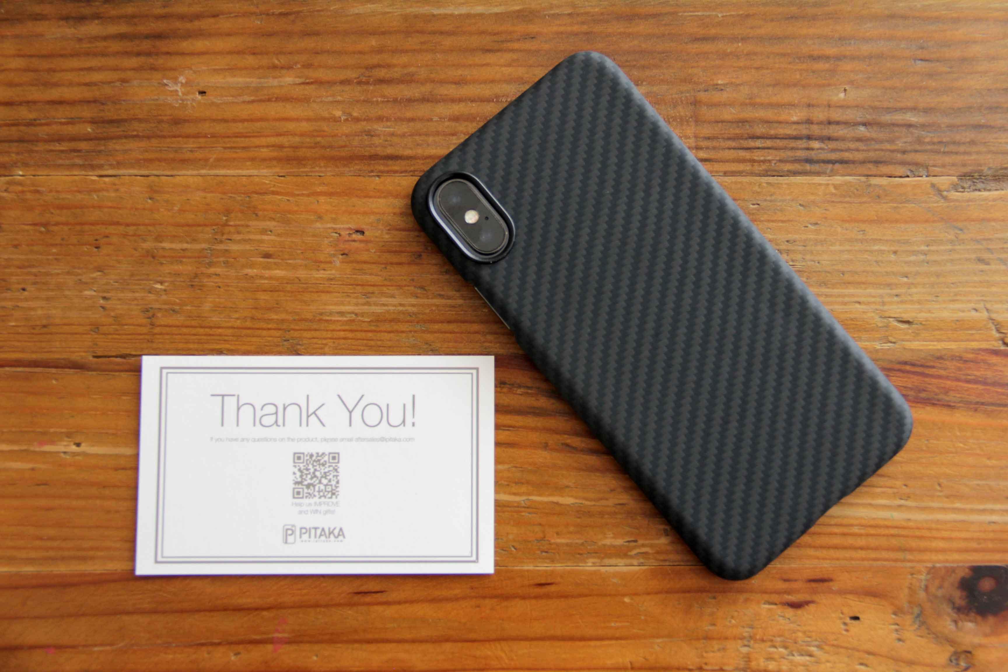 PITAKA iPhoneXケース装着レビュー