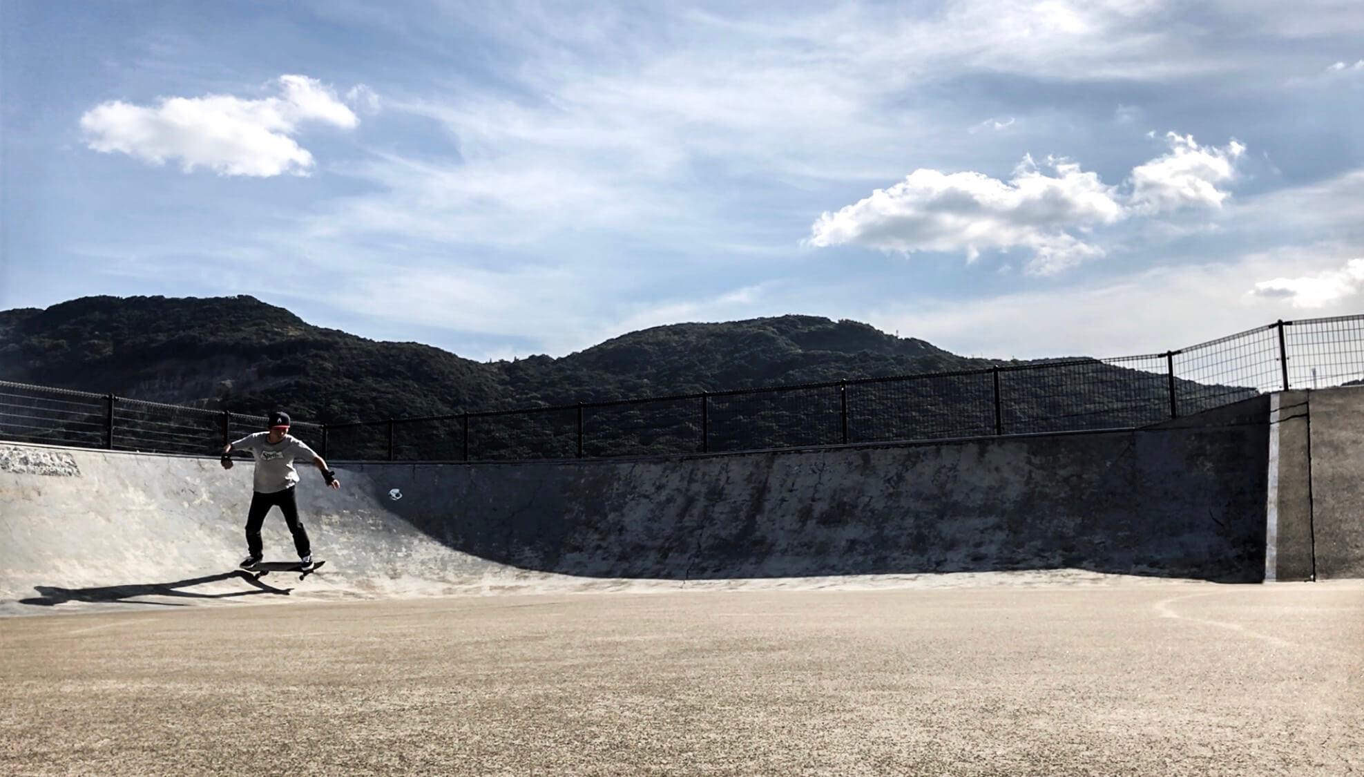 長崎小江スケートパーク広大スペースの写真