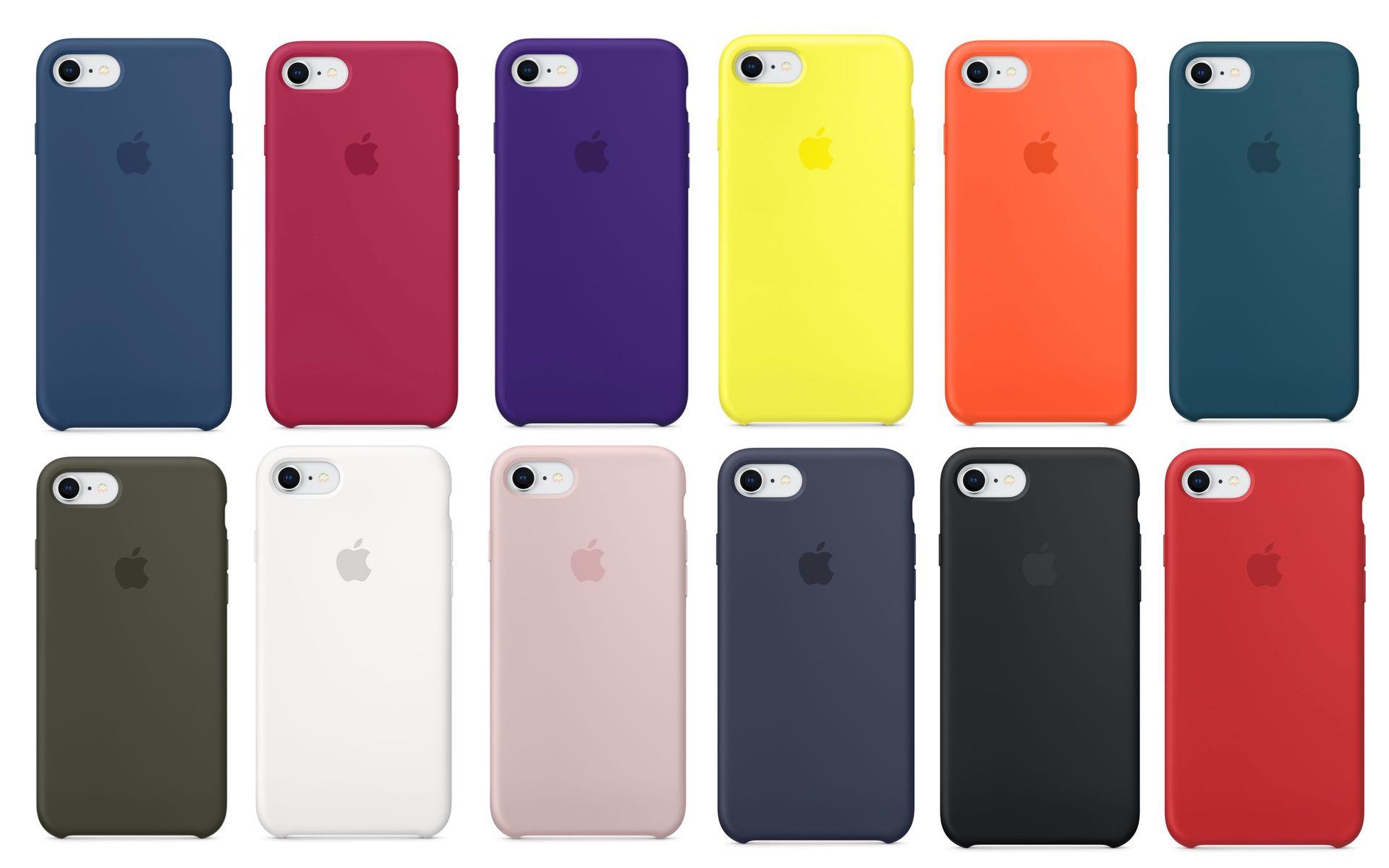 iPhone8/8PlusApple純正シリコーンケースの写真