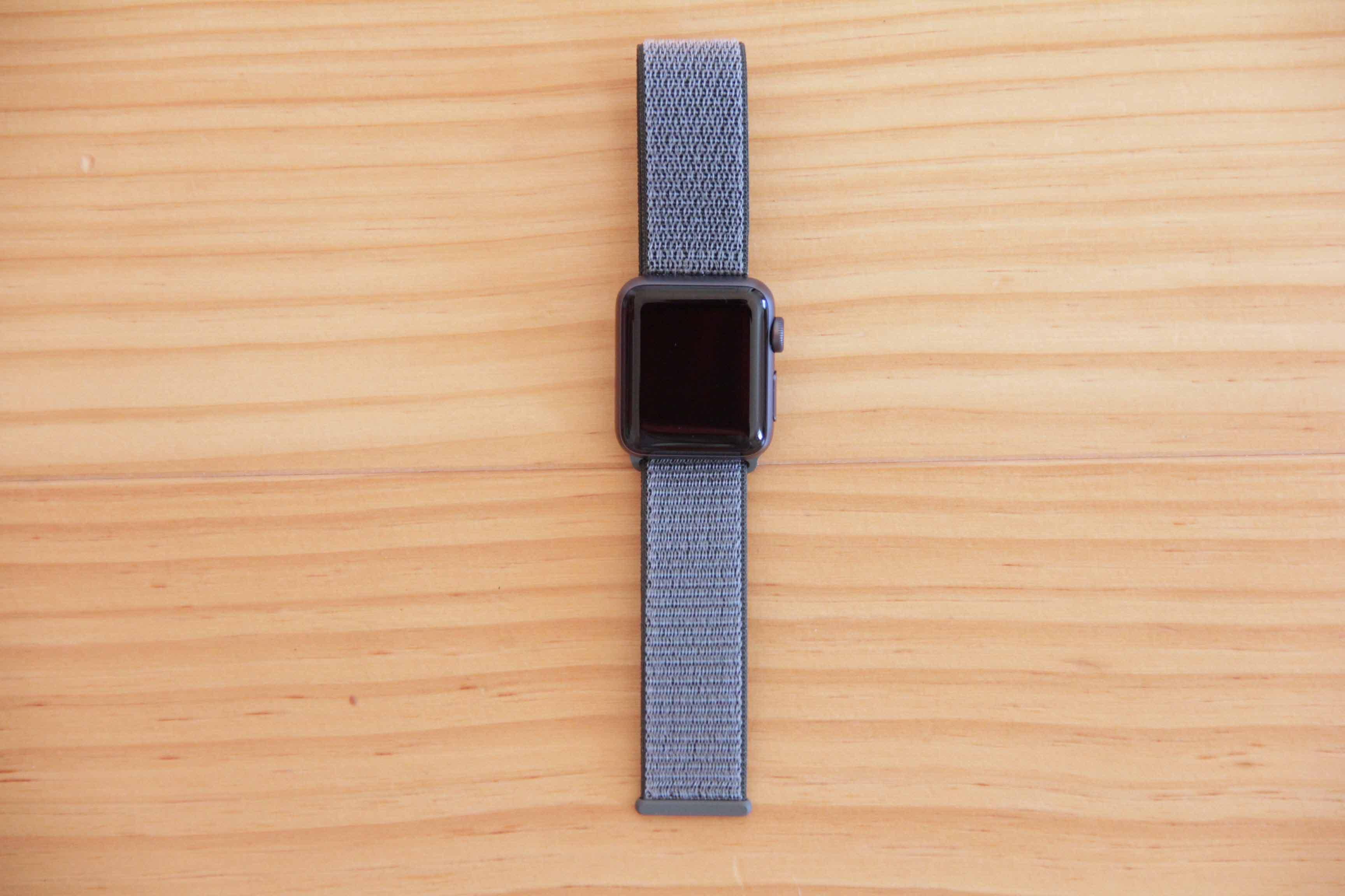 Apple Watch series3本体デザインの写真