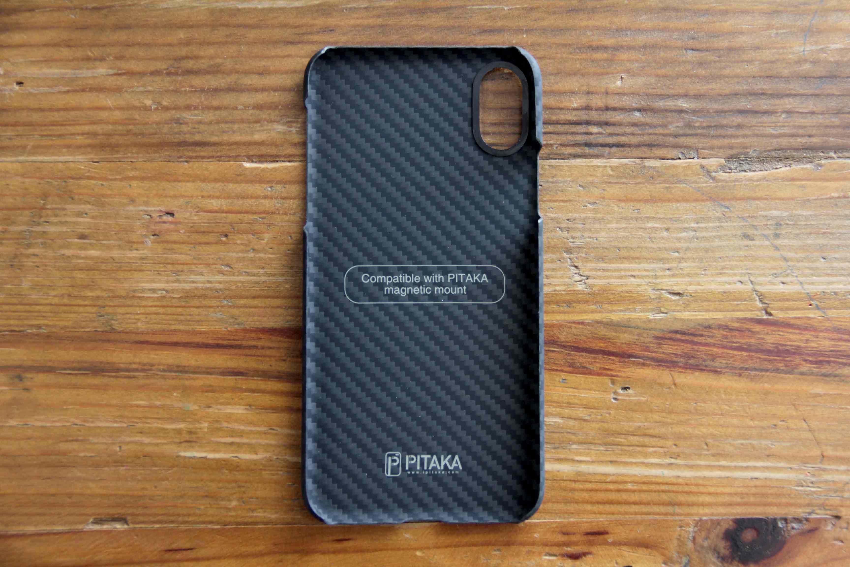 PITAKA iPhoneXケース内側の写真