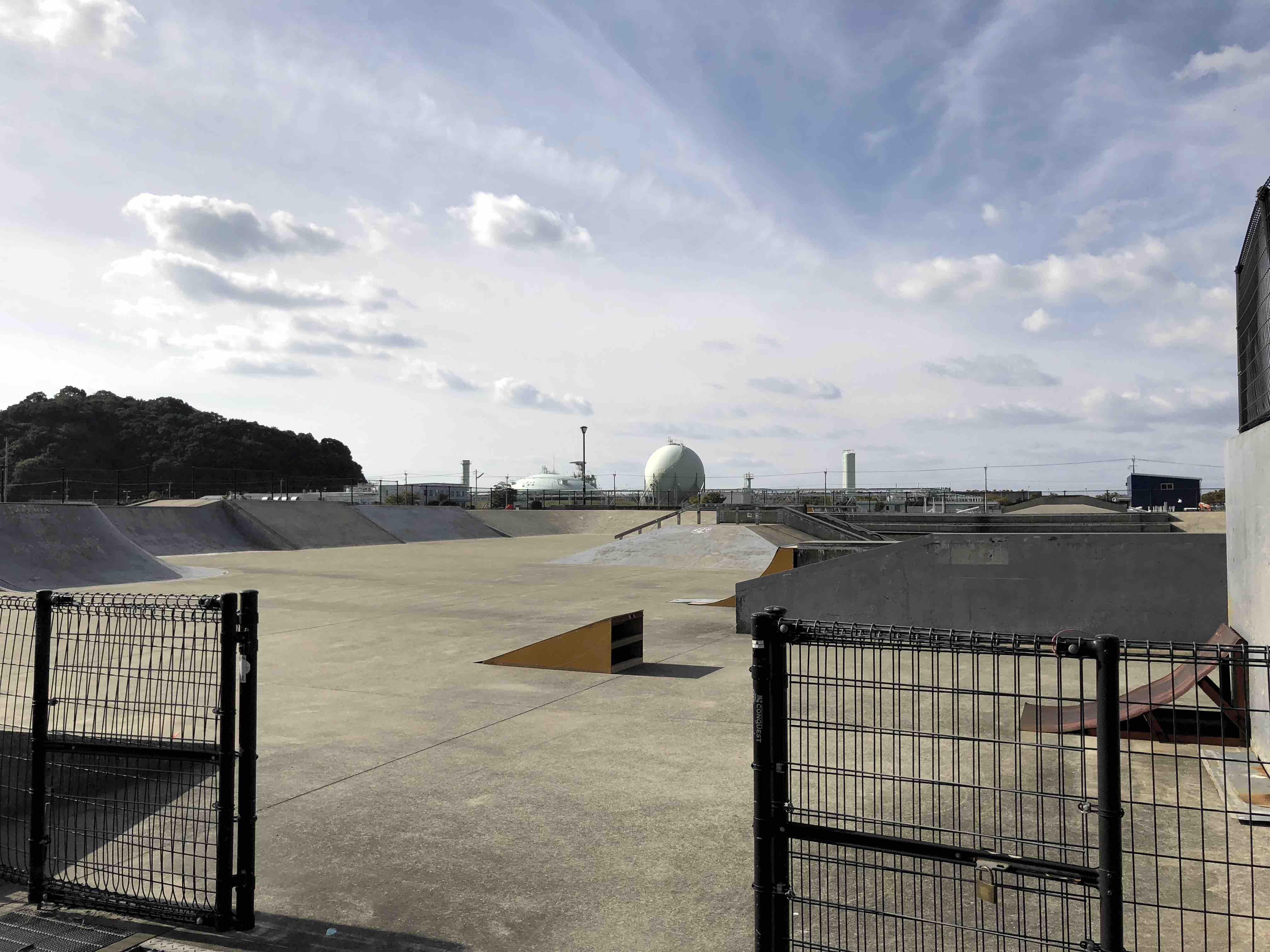 長崎小江スケートパークの写真
