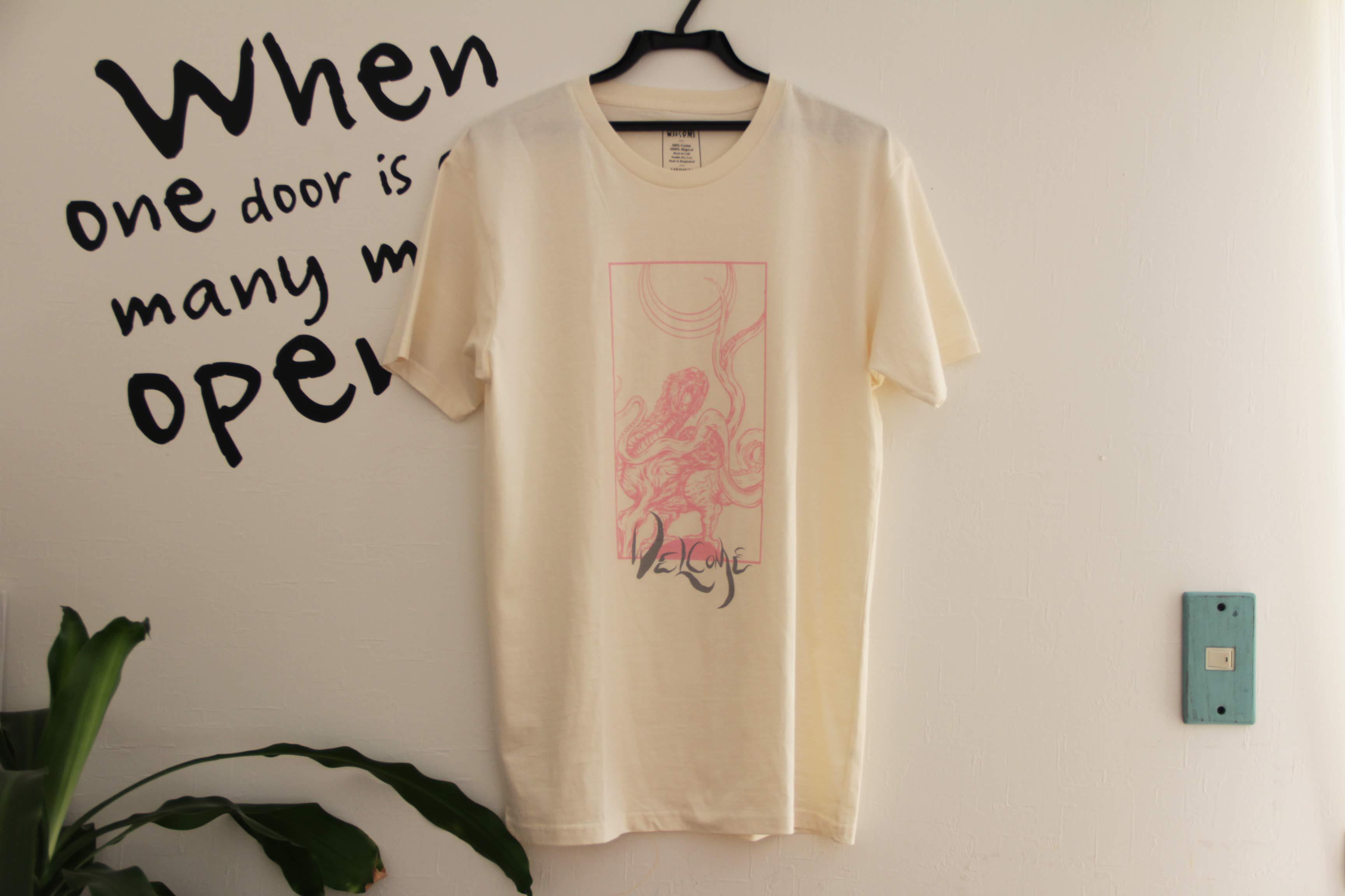 welcomeTシャツの画像