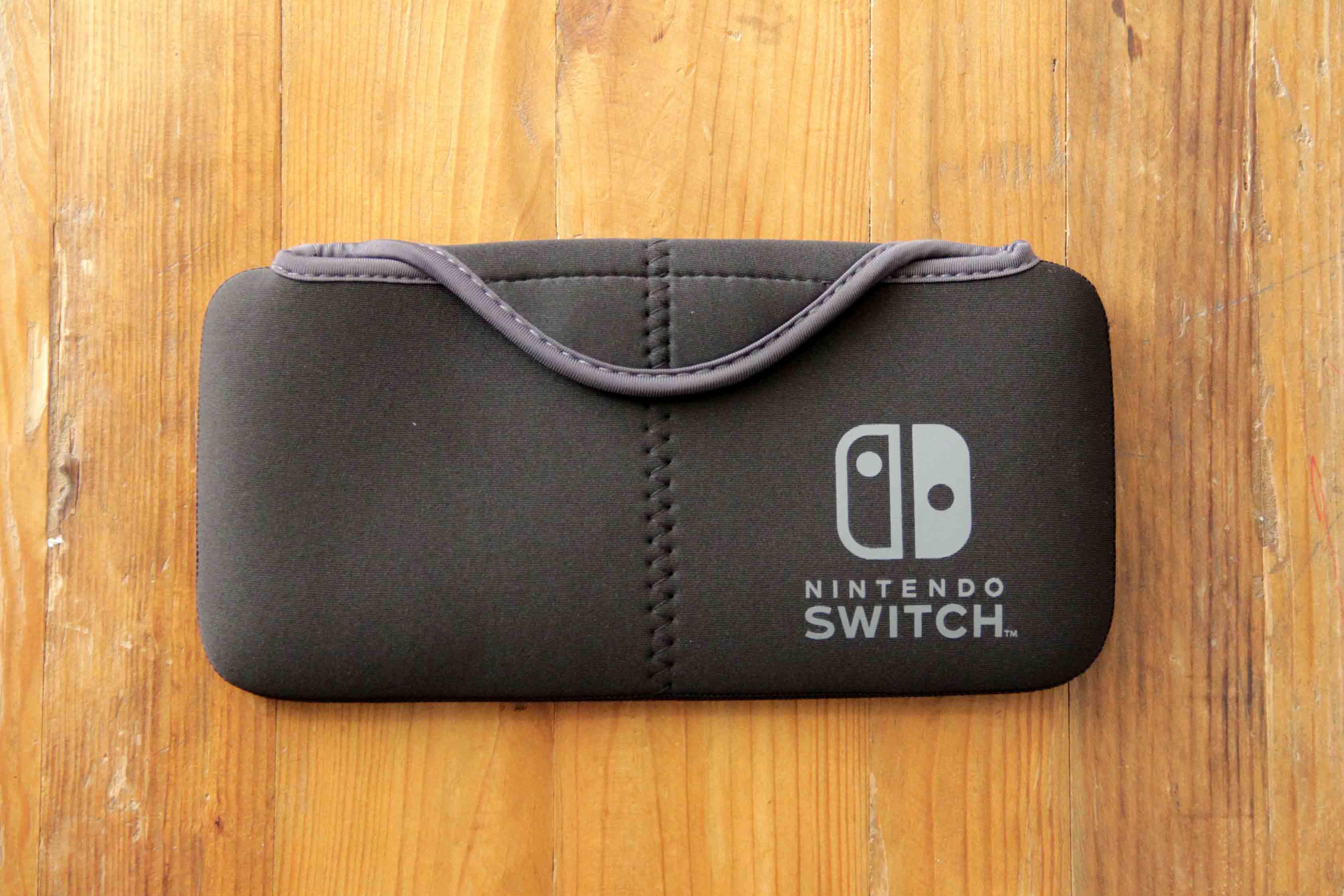 Nintendo switch専用ケースポーチ|QUICK POUCH本体正面画像