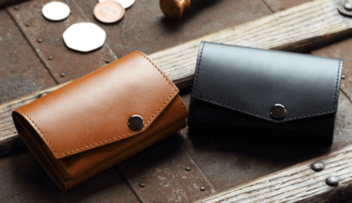 小さい財布 ブッテーロの画像