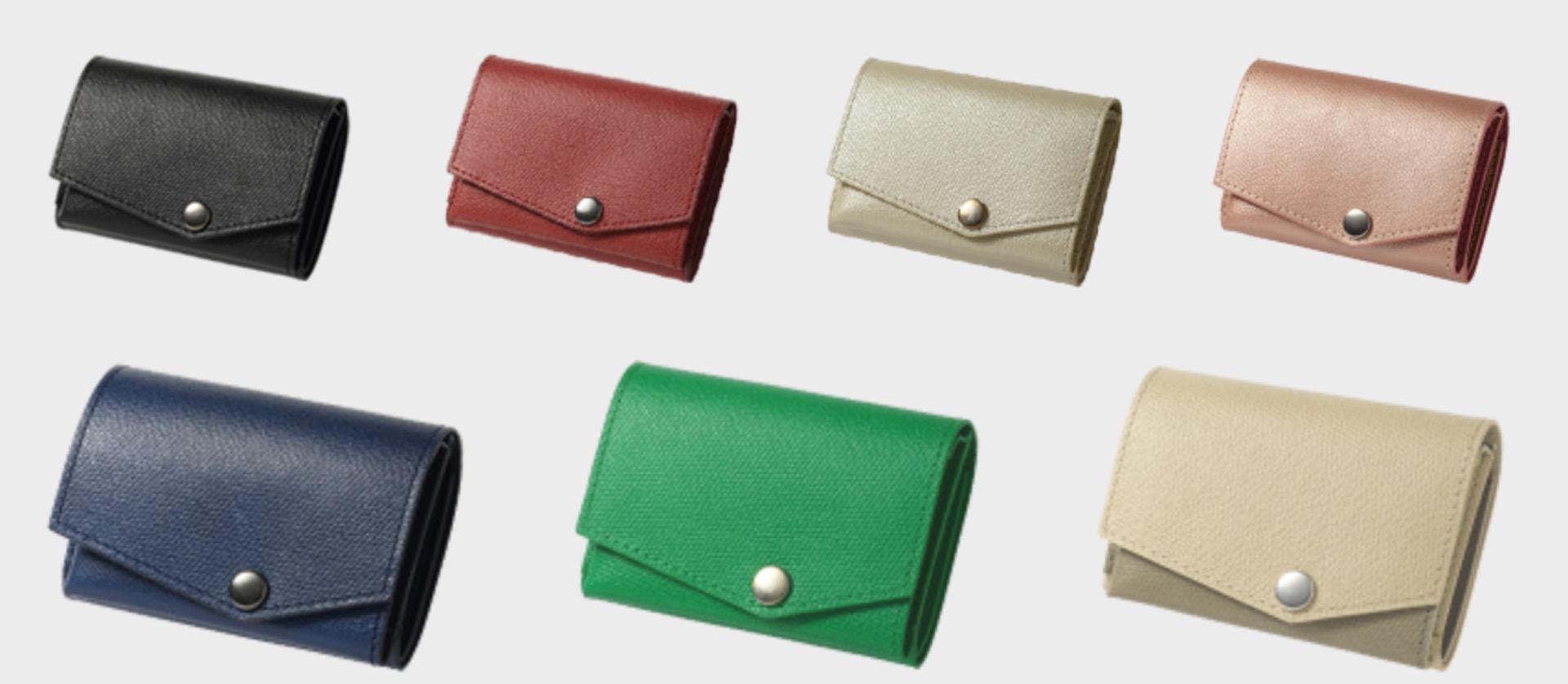 小さい財布 for ladiesmのカラバリの画像