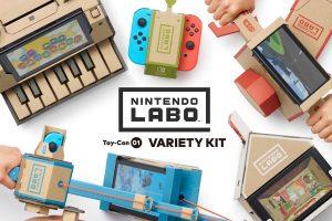 Nintendo Laboの記事のアイキャッチの記事