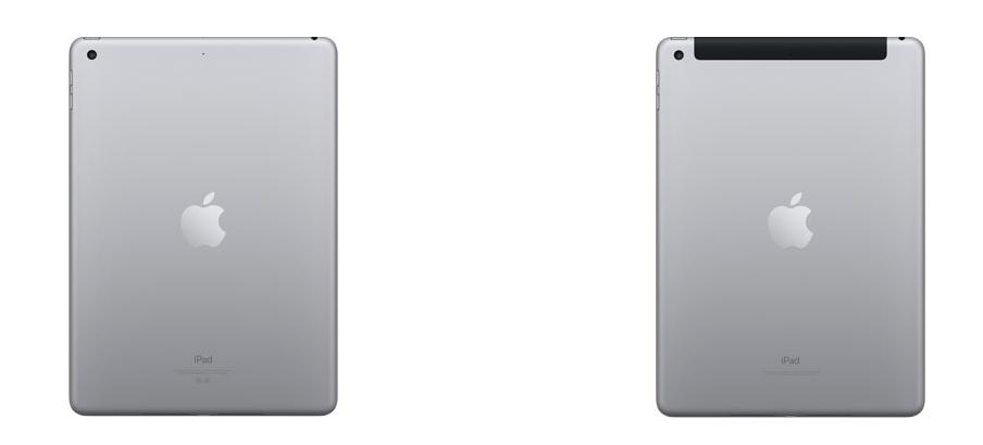 New iPadの通信モデルについての参照画像
