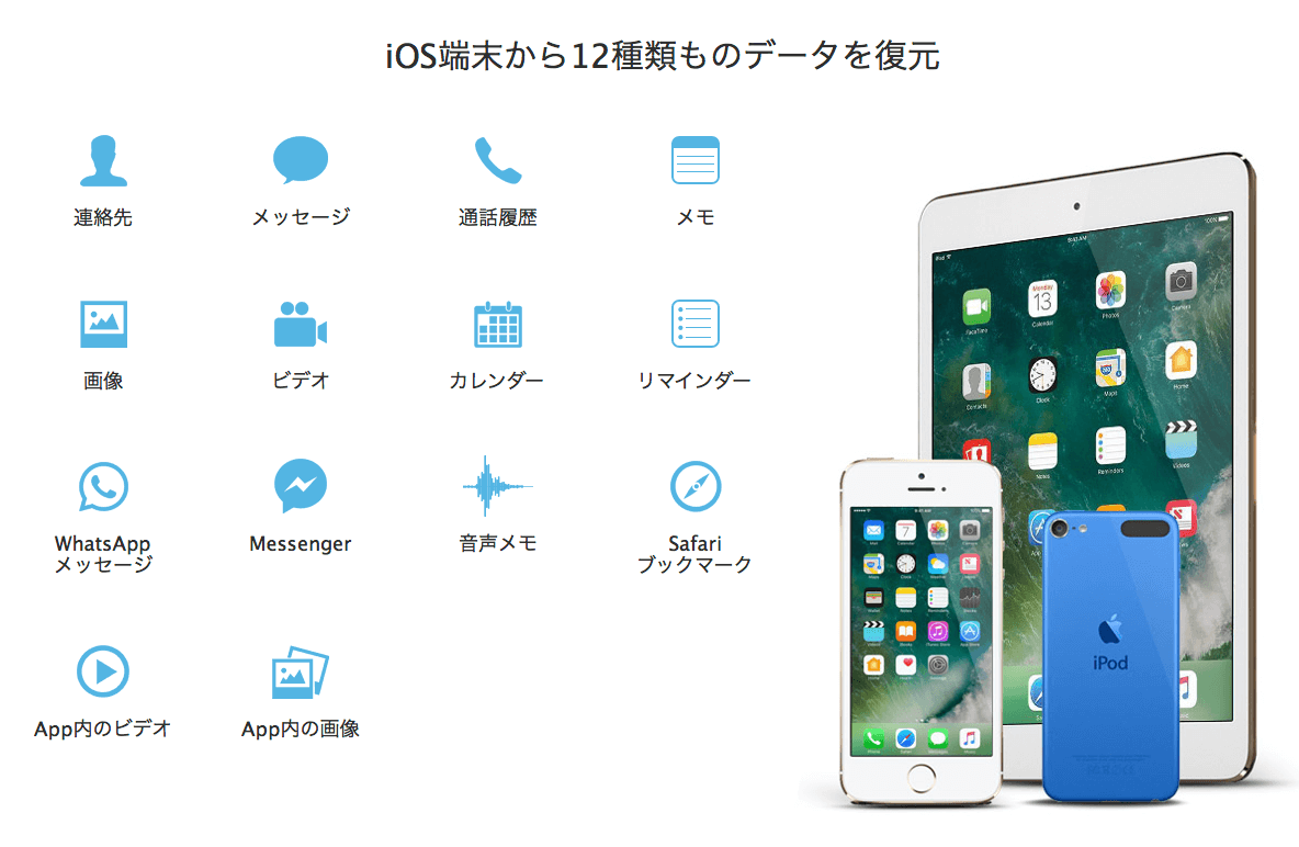 EaseUS MobiSaver iPhoneの画像