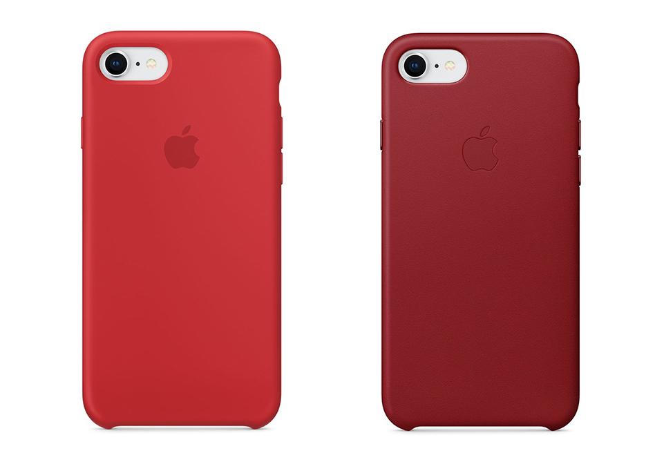 Apple iPhone 8/8Plusの各種純正ケースの画像