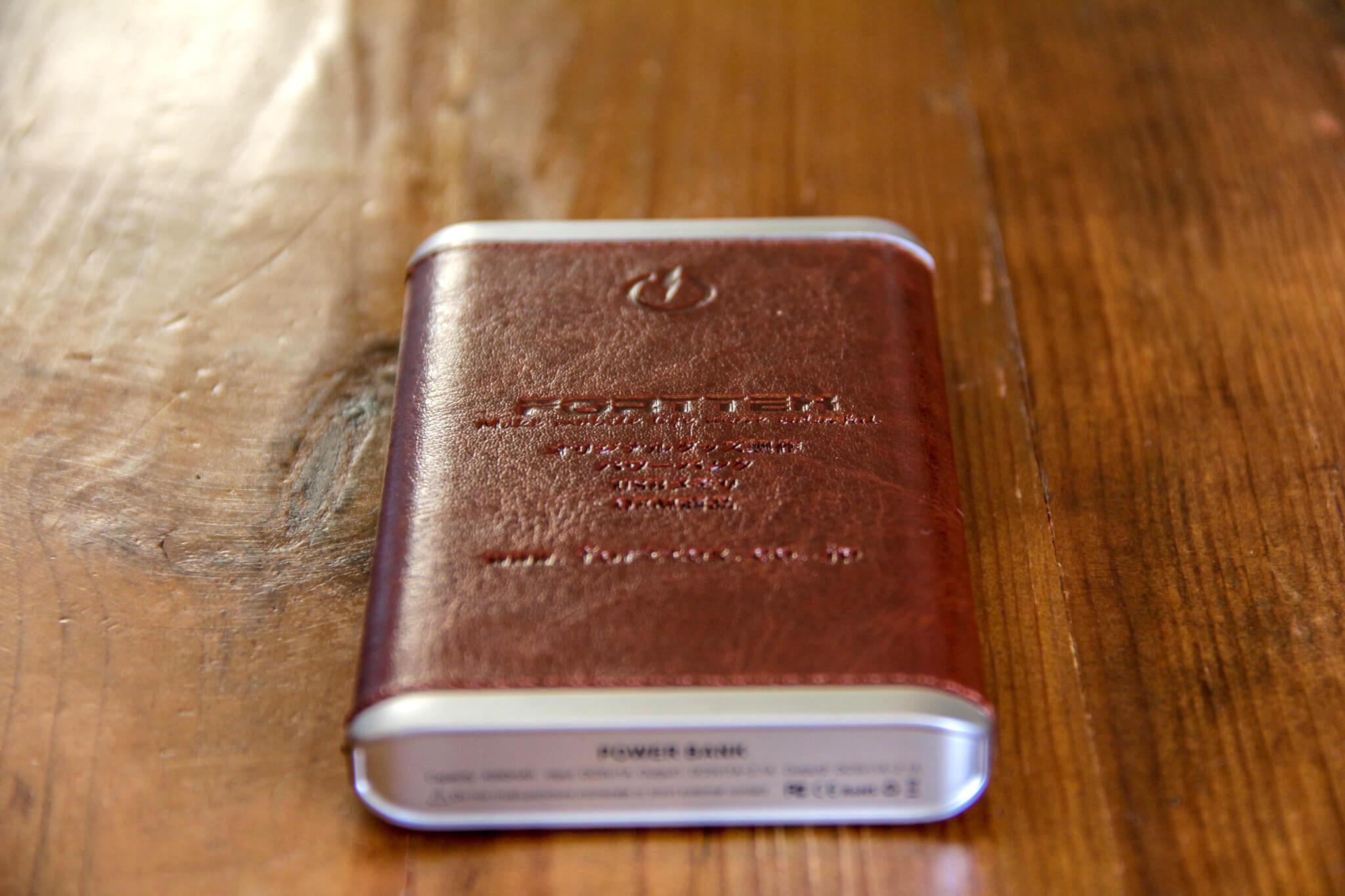 オリジナルノベリティモバイルバッテリーの写真4