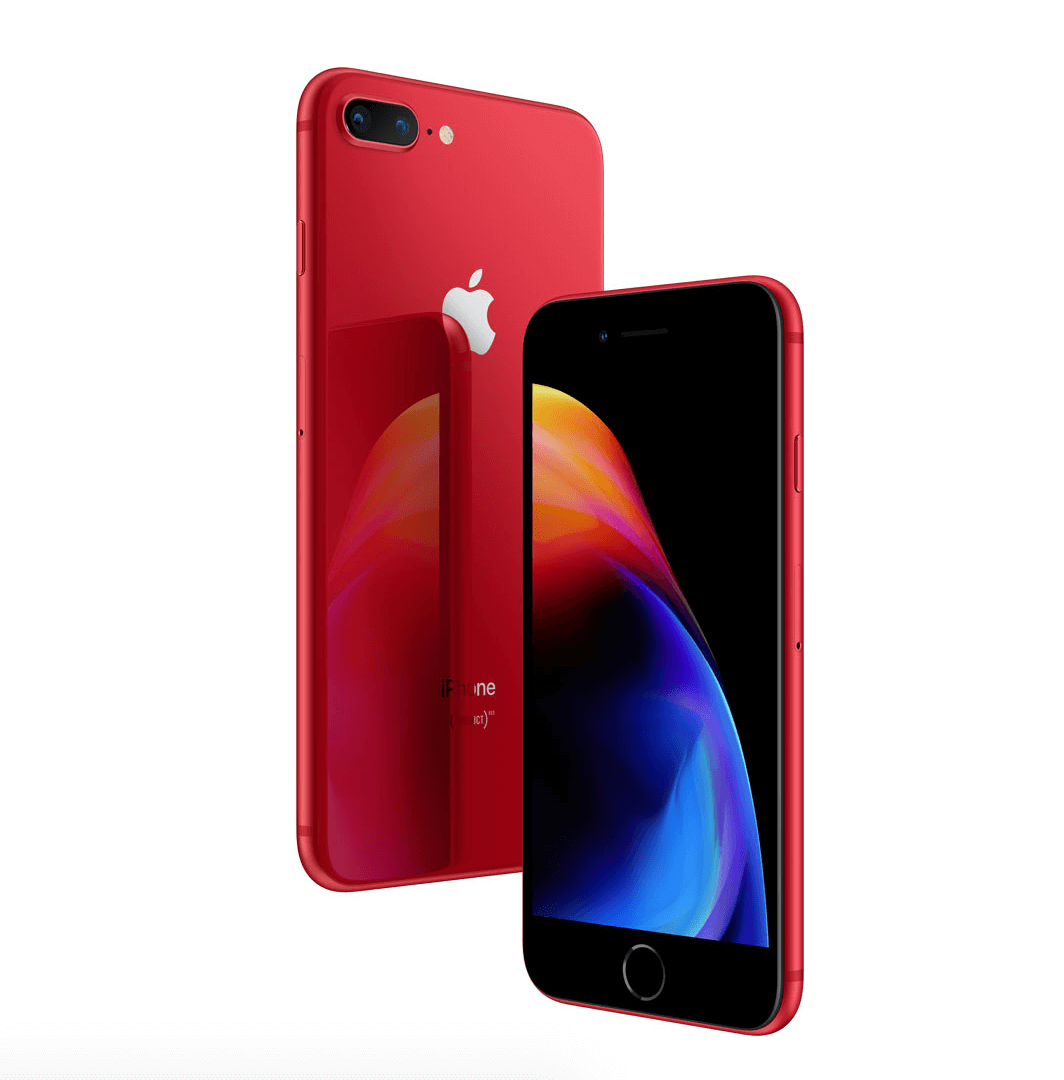 iPhone 8-8 Plus (PRODUCT)RED Special Editionの画像
