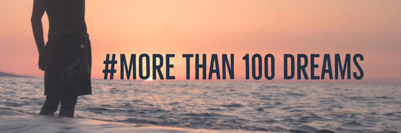 More than 100 dreamsの見出し画像