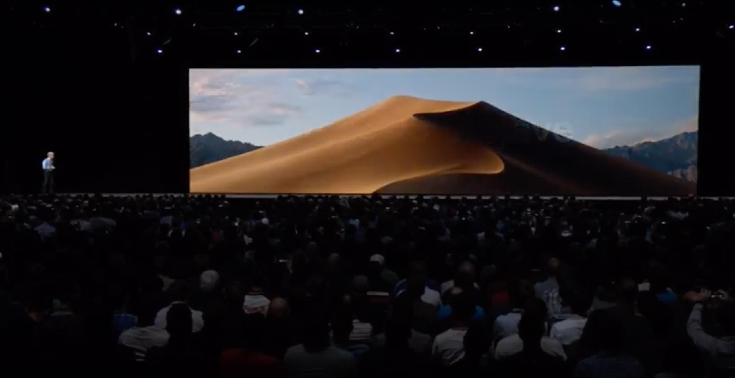 MacOS:Mojaveのダークモードビフォーの写真