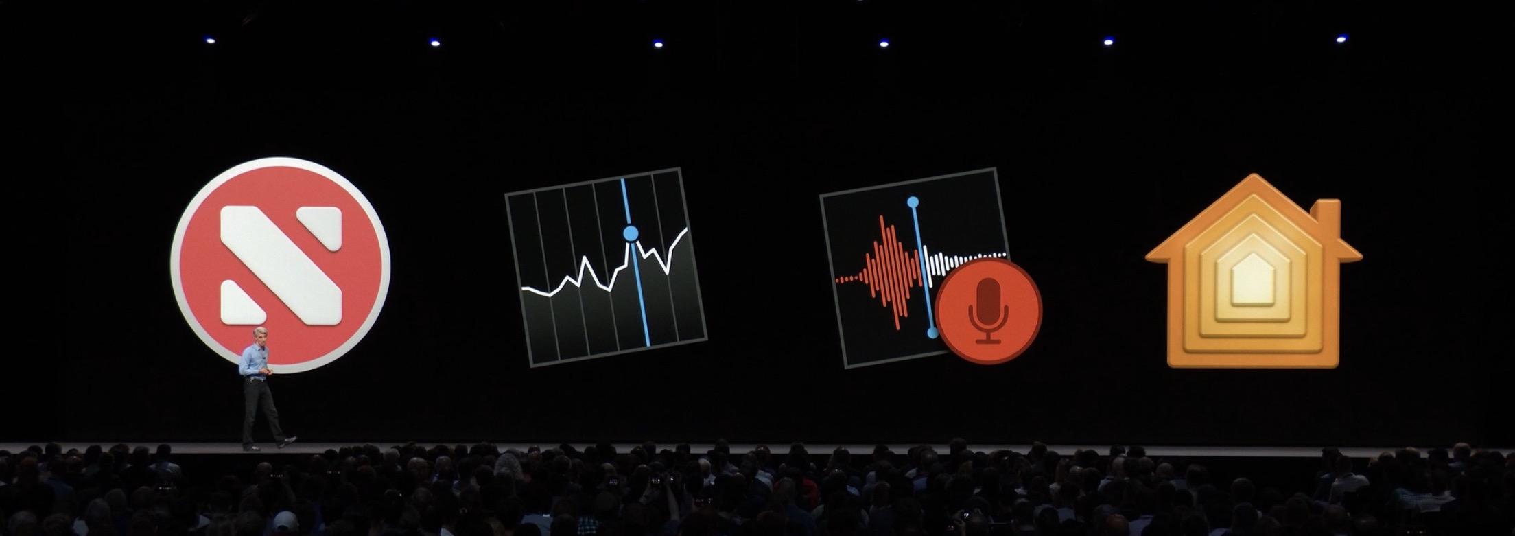 News,株価,ボイスメモ,ホームのアプリアイコン画像