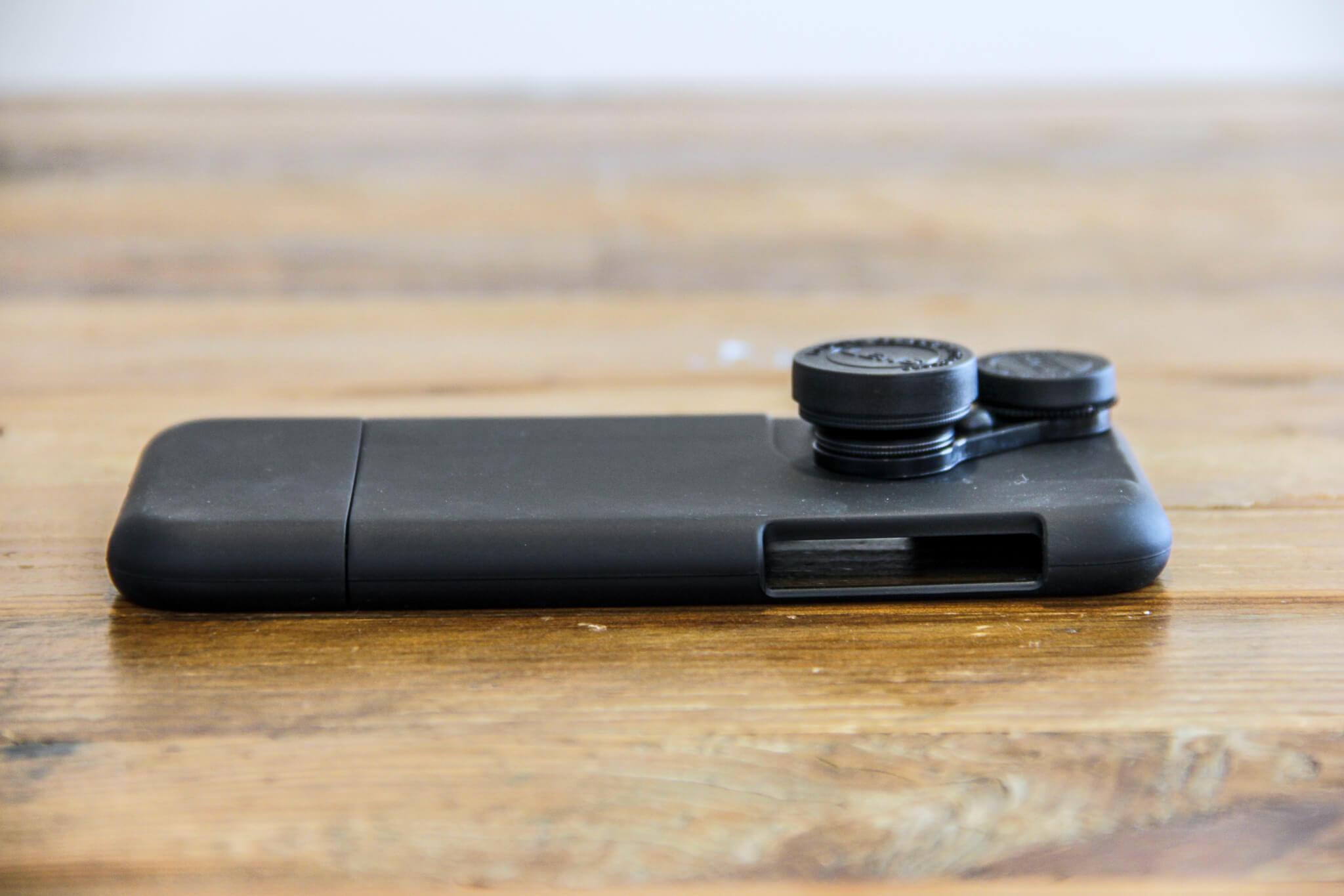 iPhone X カメラレンズキットケース装着前外観3