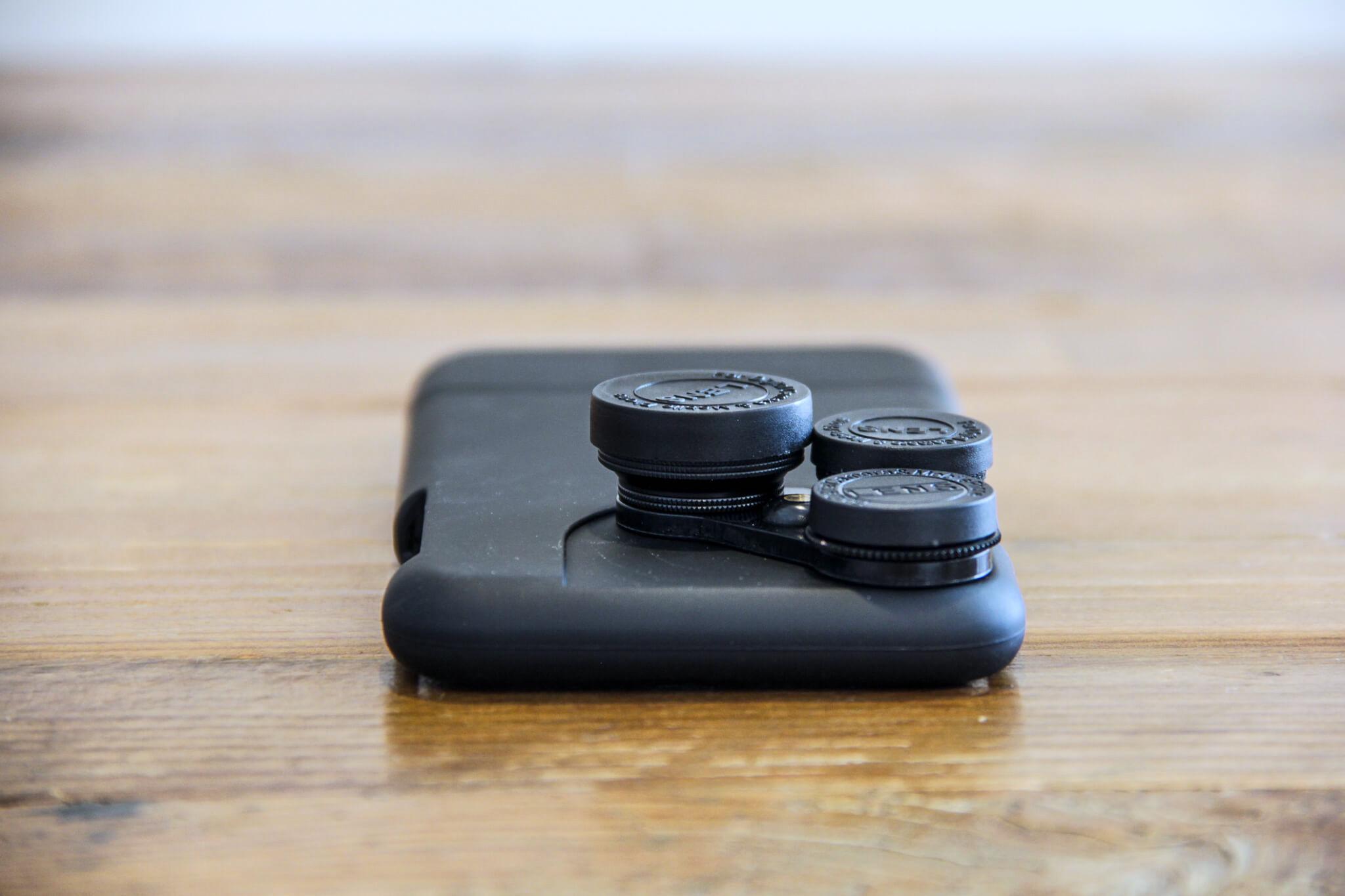 iPhone X カメラレンズキットケース装着前外観1