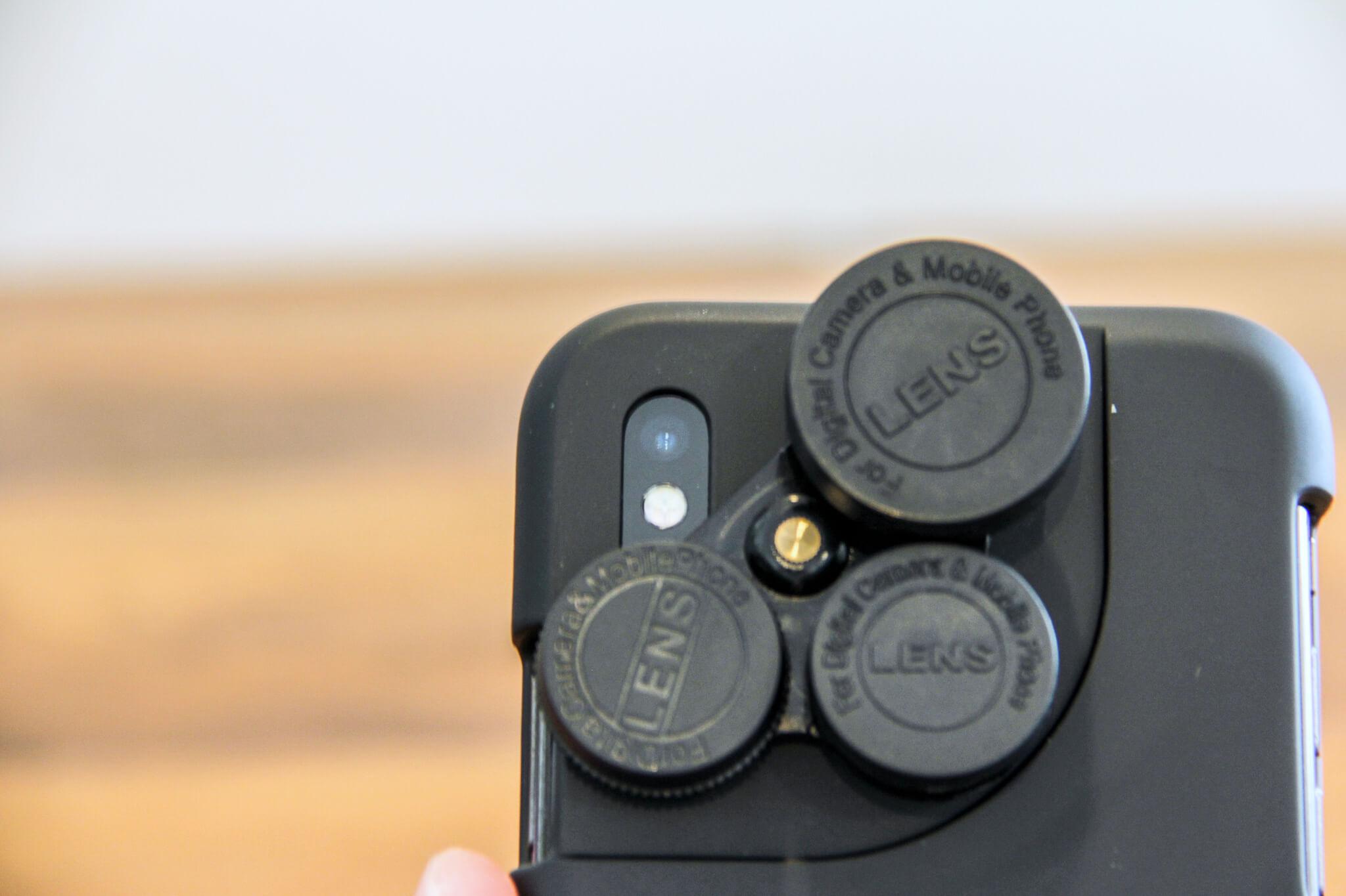 iPhone Xカメラレンズキットキャップ写真