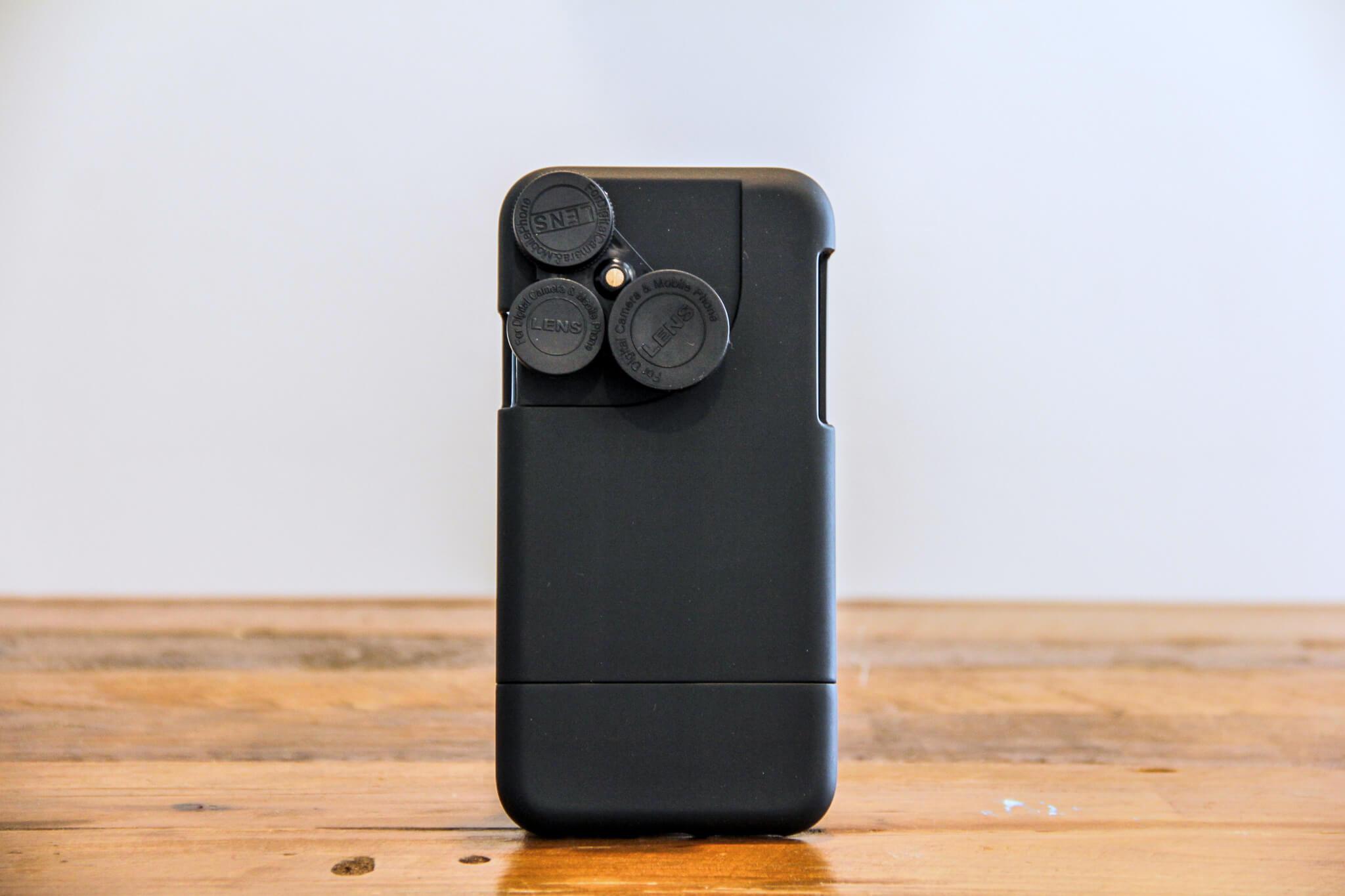 iPhone X カメラレンズキットケース背面