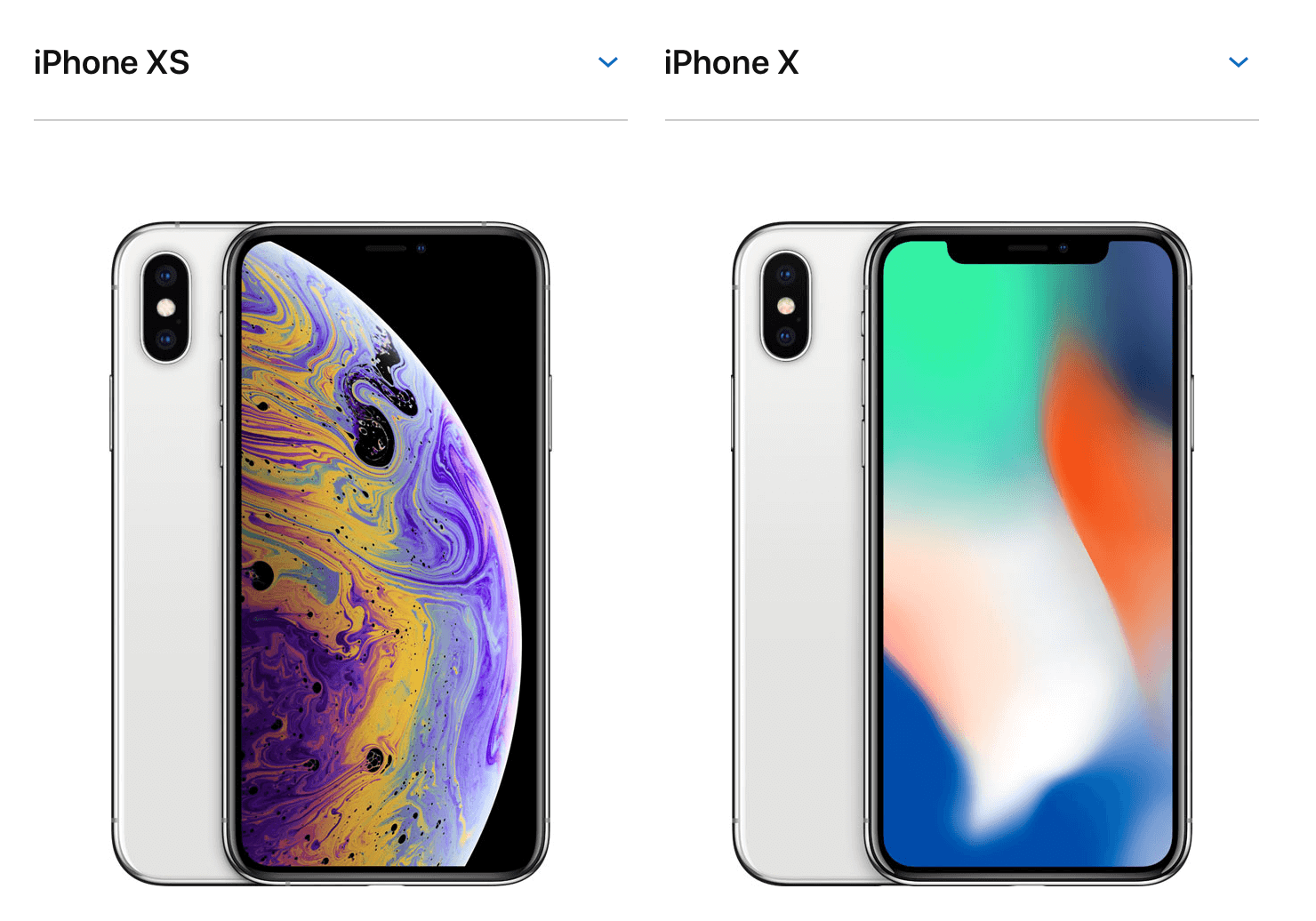 iPhone XS&iPhone X image