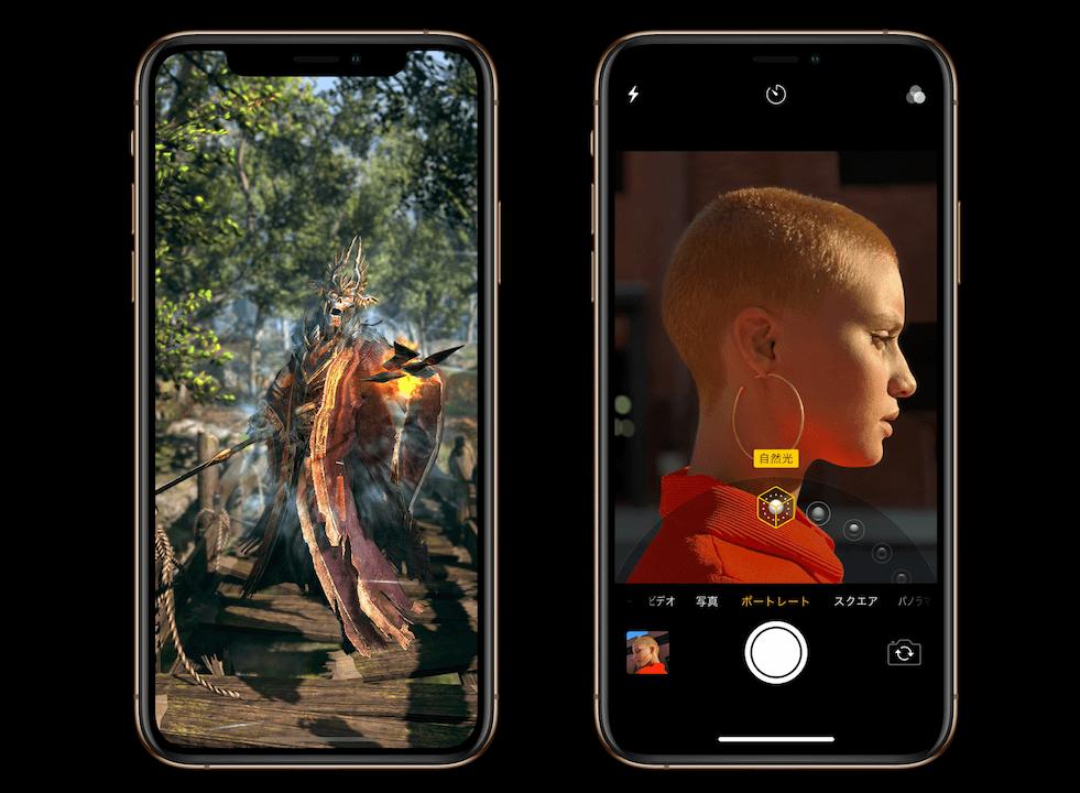 ゲームとカメラの画像
