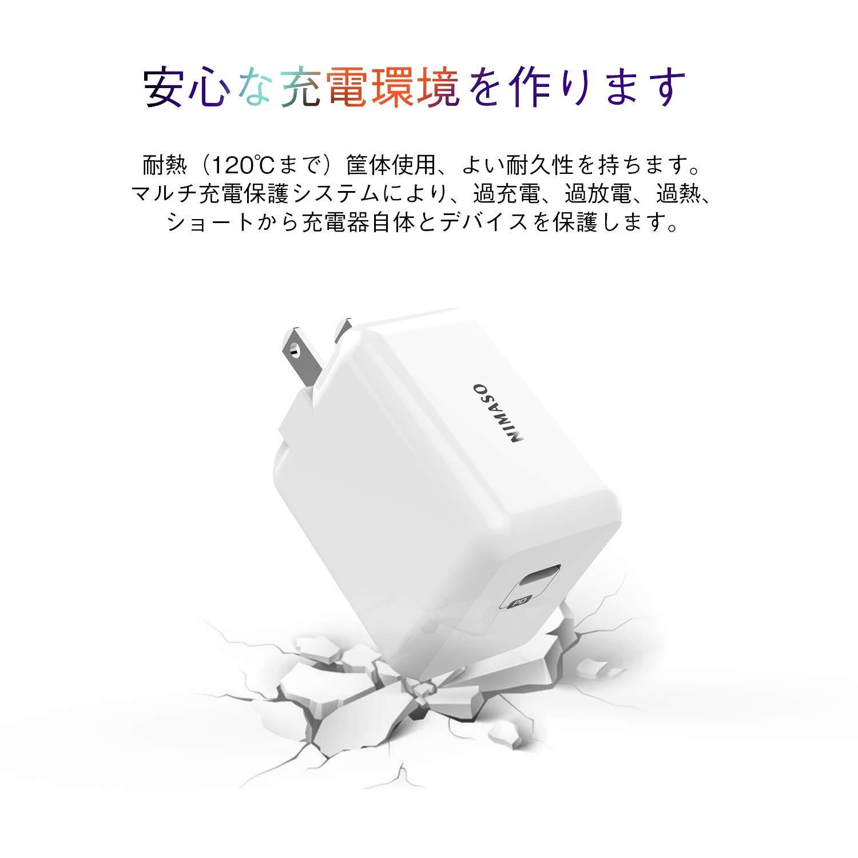 NIsomoのACアダプターの耐熱&耐久性を可視化した画像