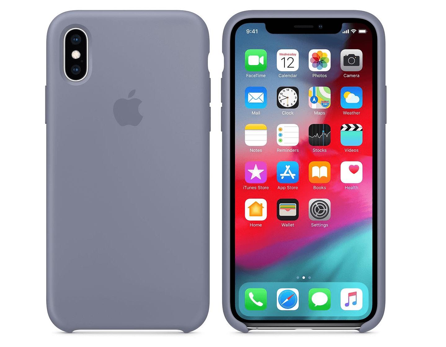 Apple iPhone XS シリコンケースの画像