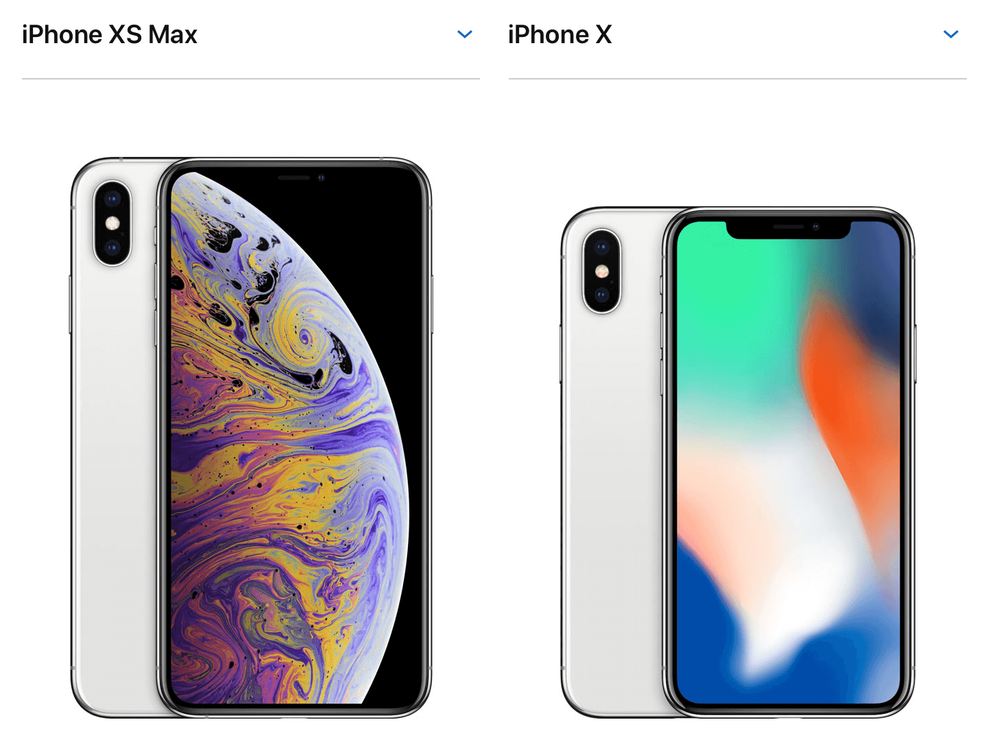 iPhone XS MAX&iPhone X image