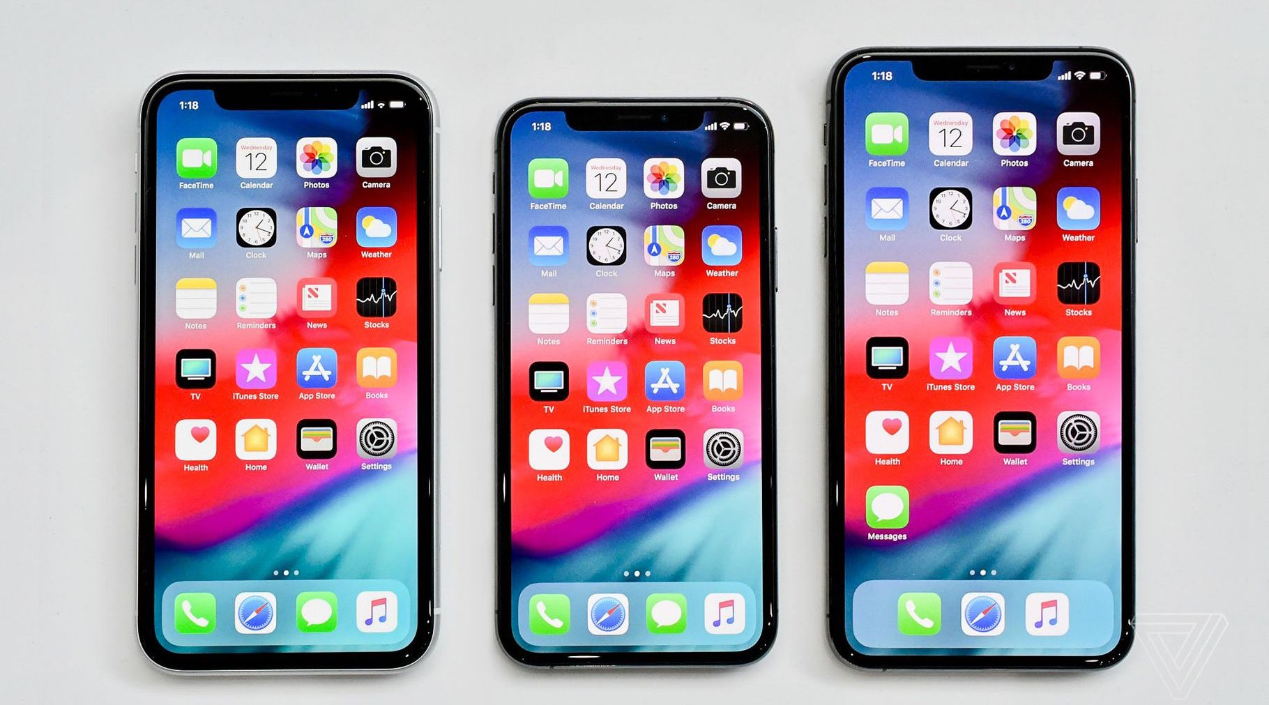 iPhone XS XS Max XR size-img